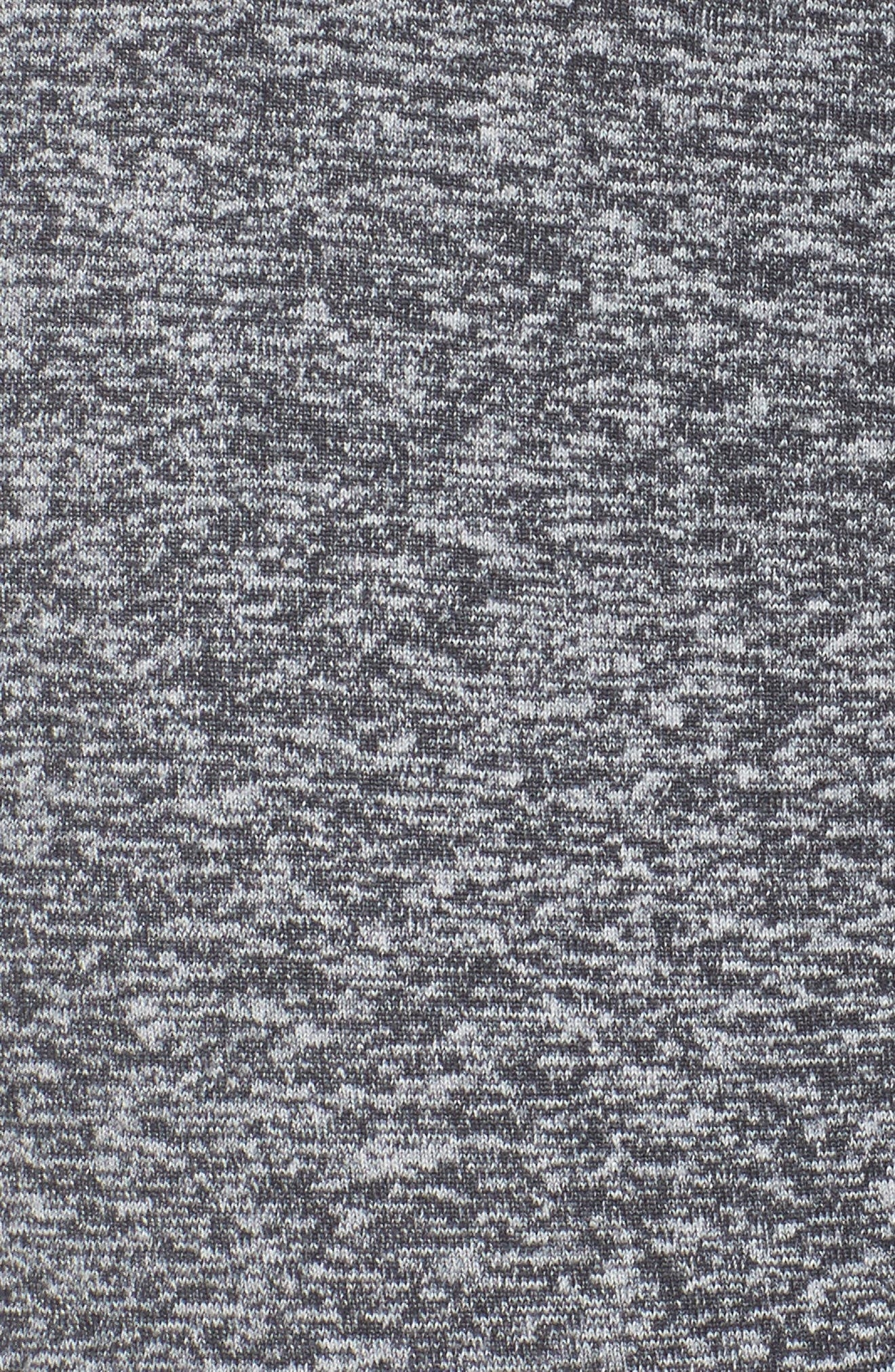 Alternate Image 4  - Zella Varsity High Waist Crop Leggings