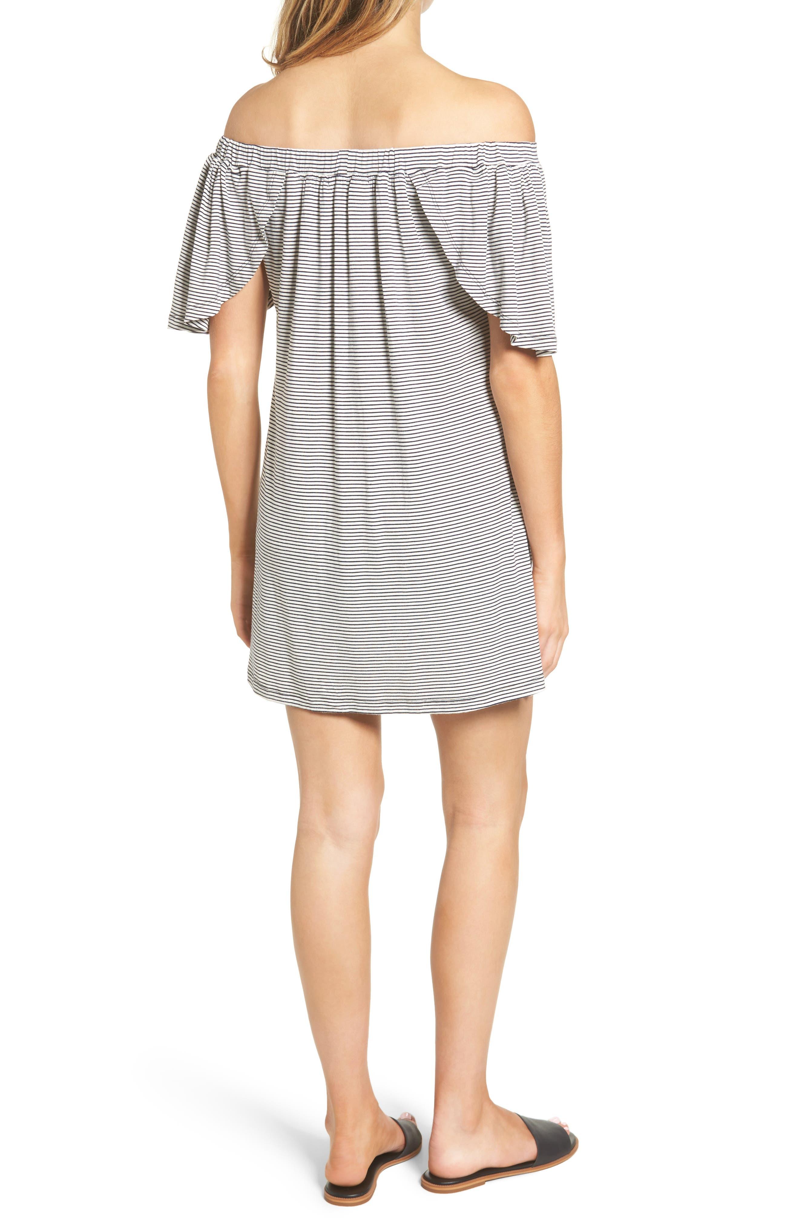 Alternate Image 2  - Delacy Marley Off the Shoulder Minidress