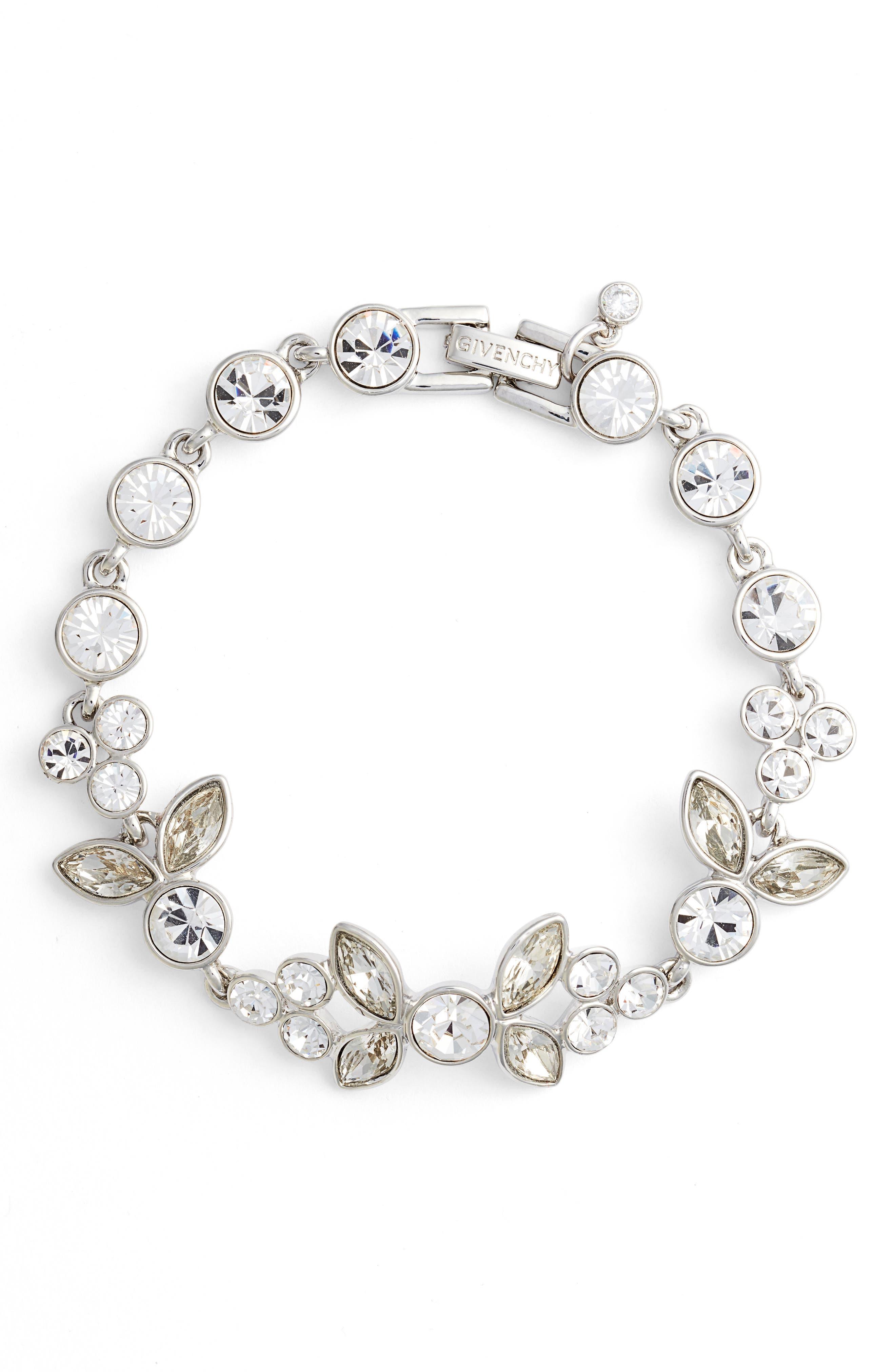 Main Image - Givenchy Sydney Crystal Flex Bracelet