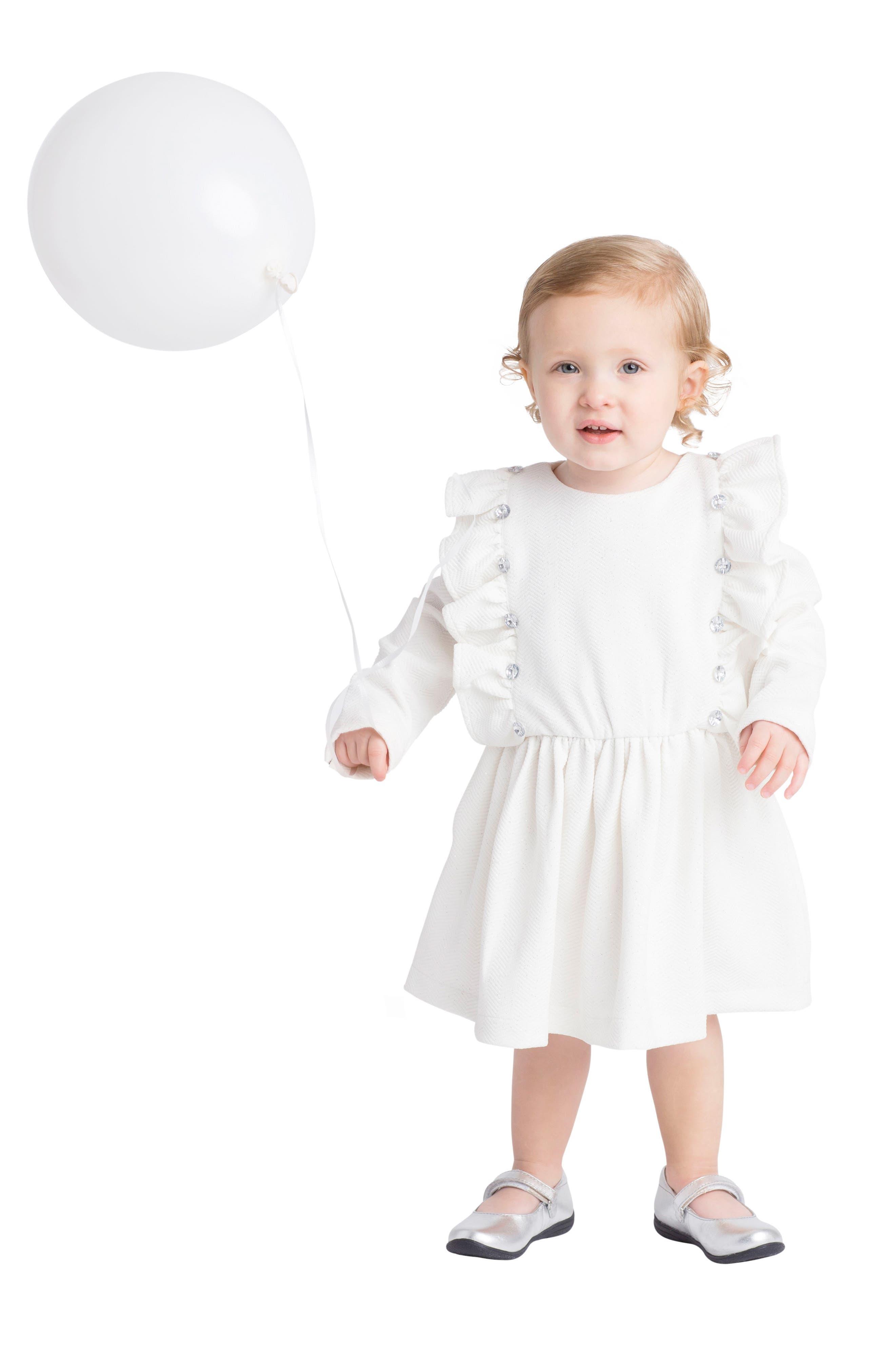 Alternate Image 2  - Masalababy Fantasia Dress (Baby Girls)