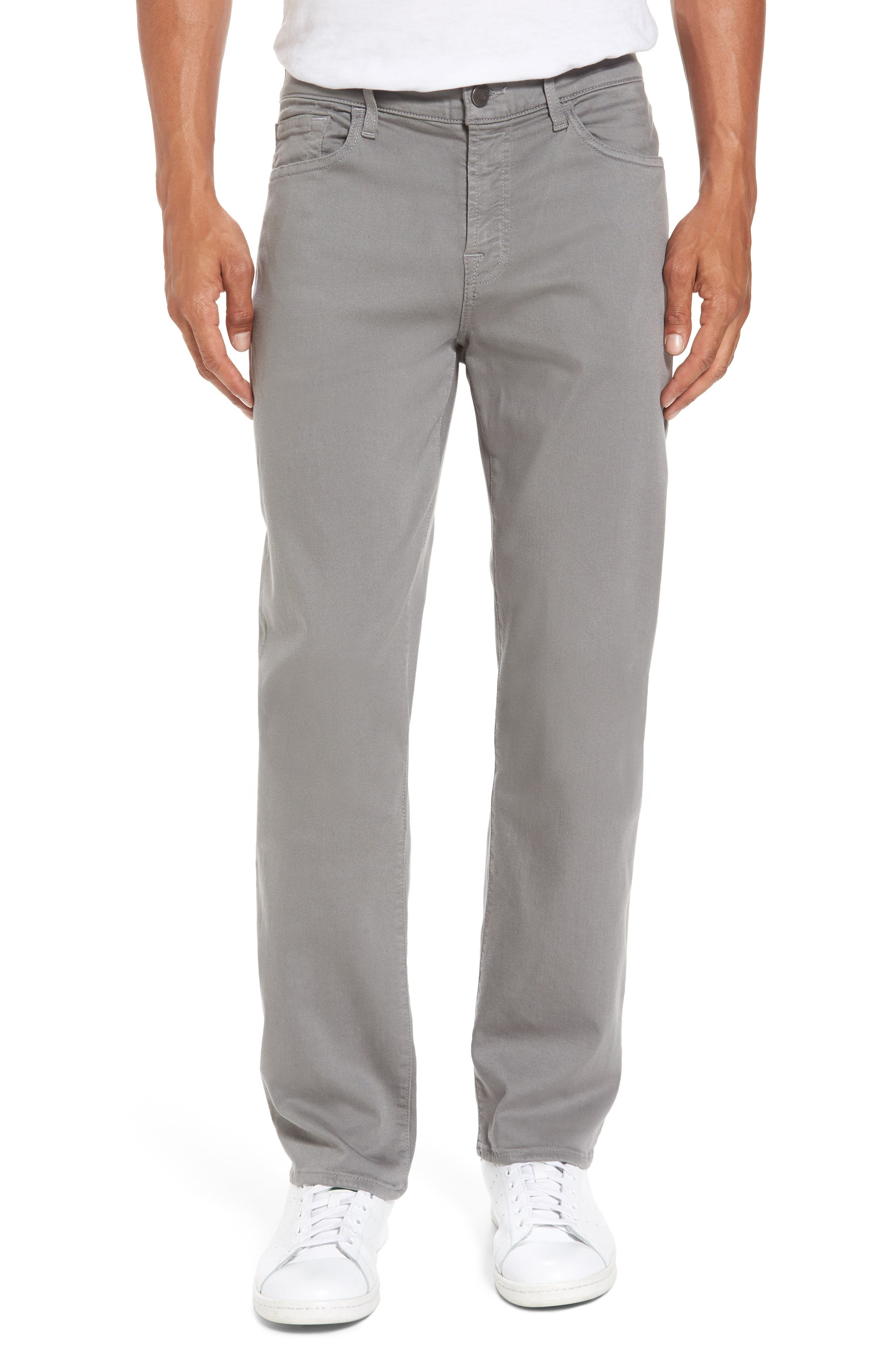 7 For All Mankind® Slimmy Luxe Sport Slim Fit Jeans (Shaded Stone)