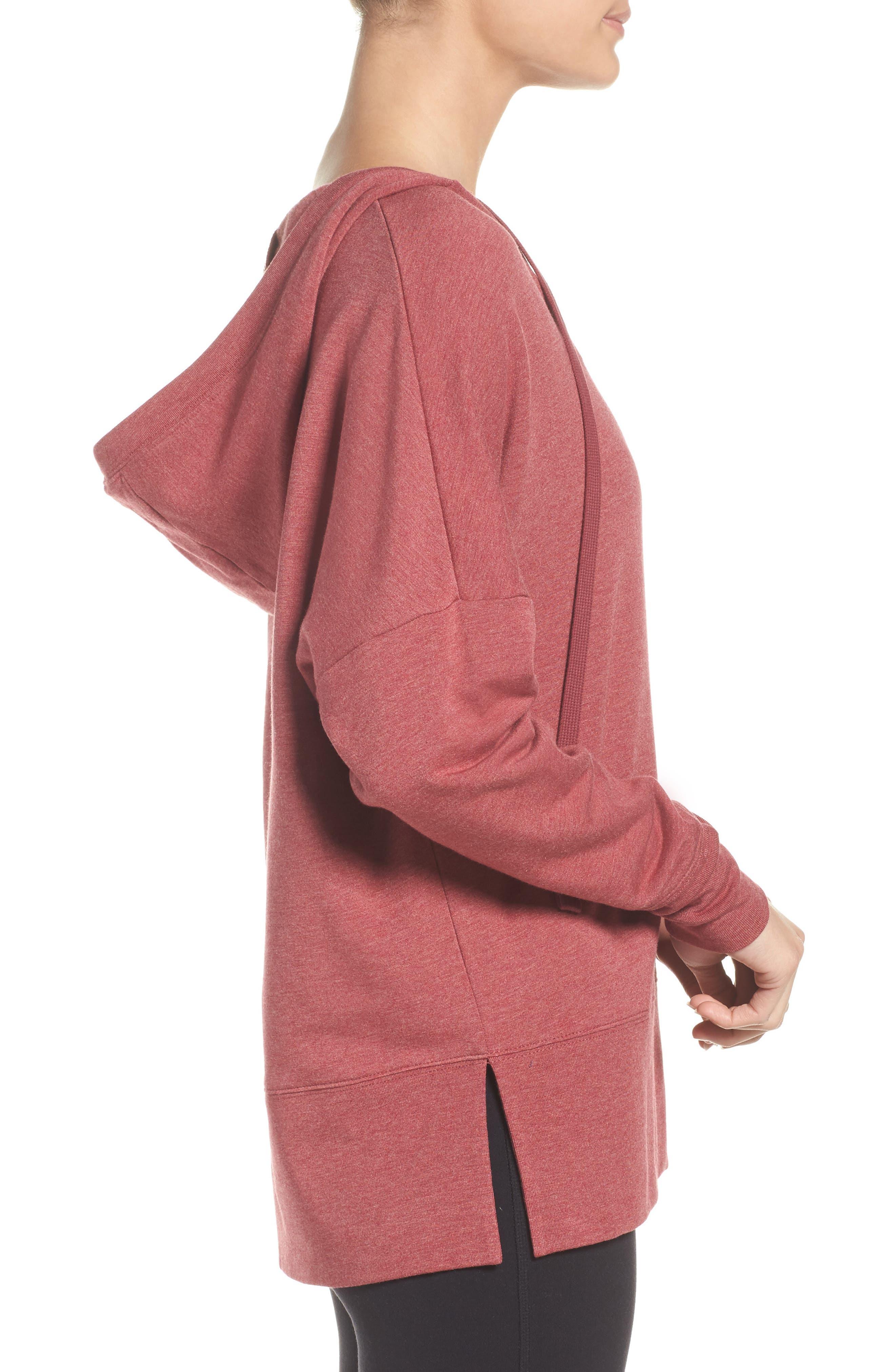 Alternate Image 3  - Alo Fluid Tunic Hoodie
