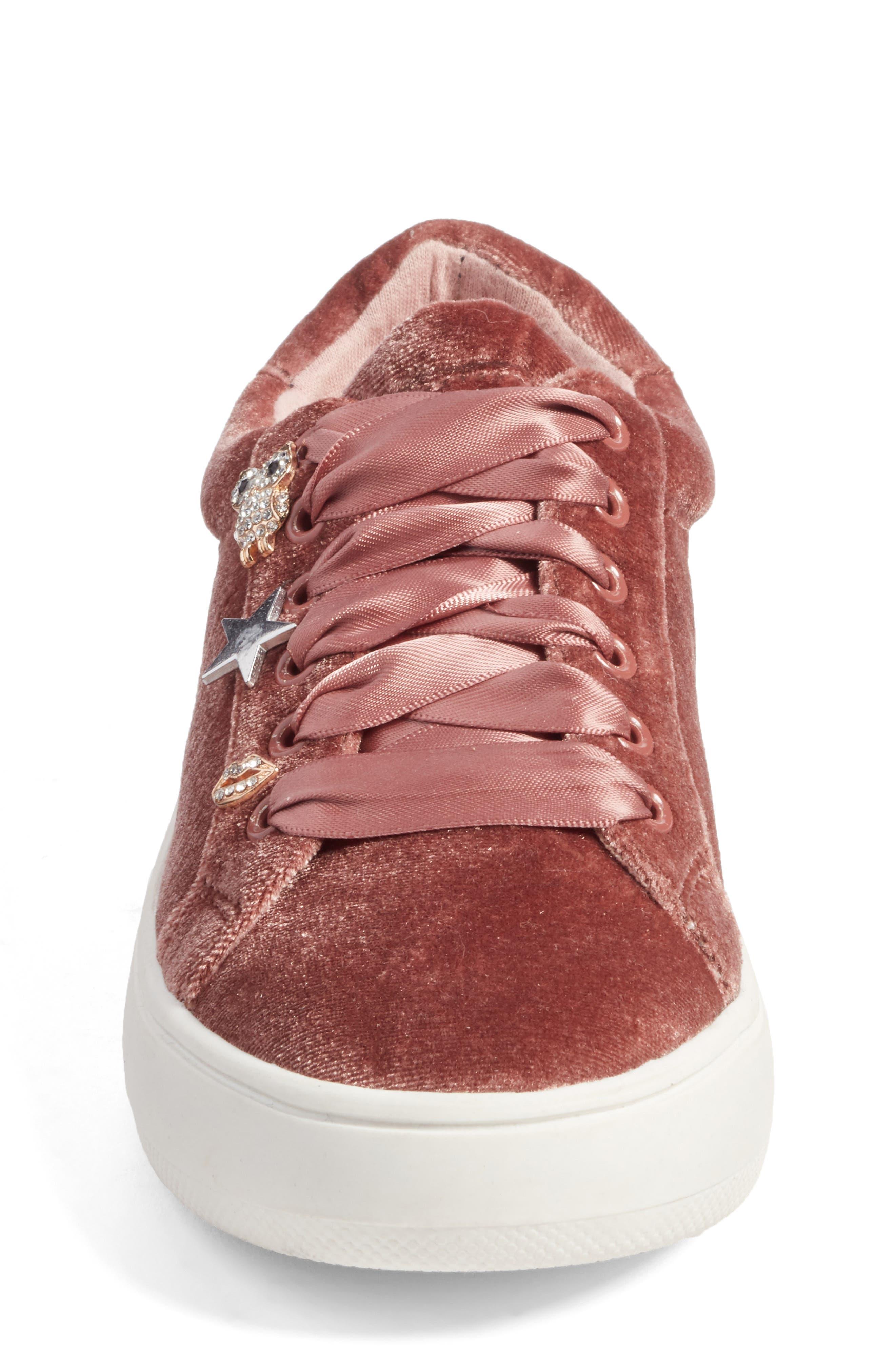 Alternate Image 4  - Steve Madden Jbertiec Charm Sneaker (Little Kid & Big Kid)