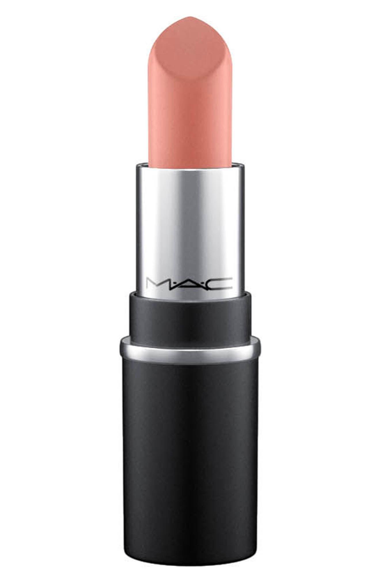 MAC Little MAC Lipstick,                         Main,                         color, Velvet Teddy M