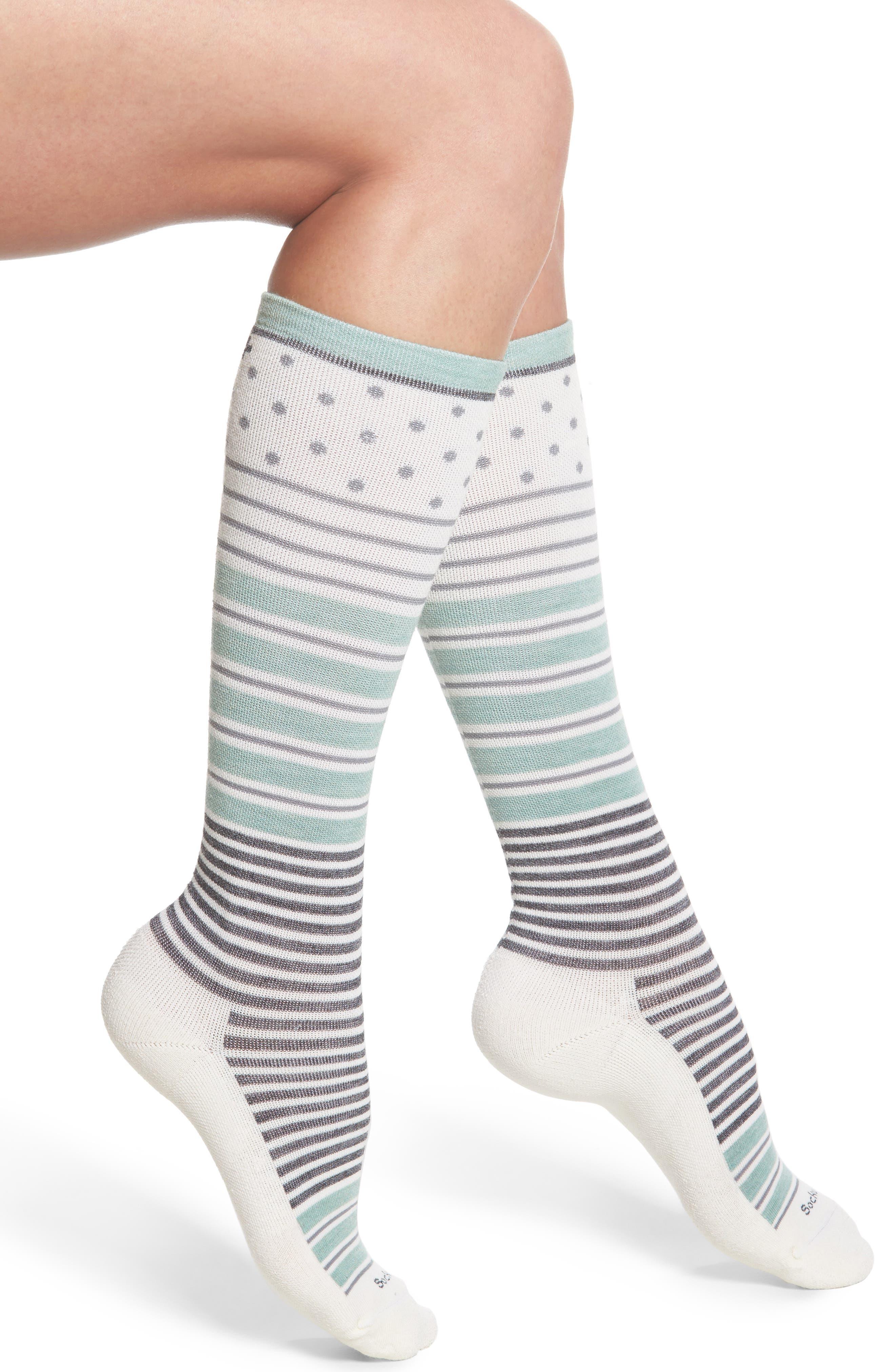 Sockwell 'Twister' Merino Wool Blend Compression Socks