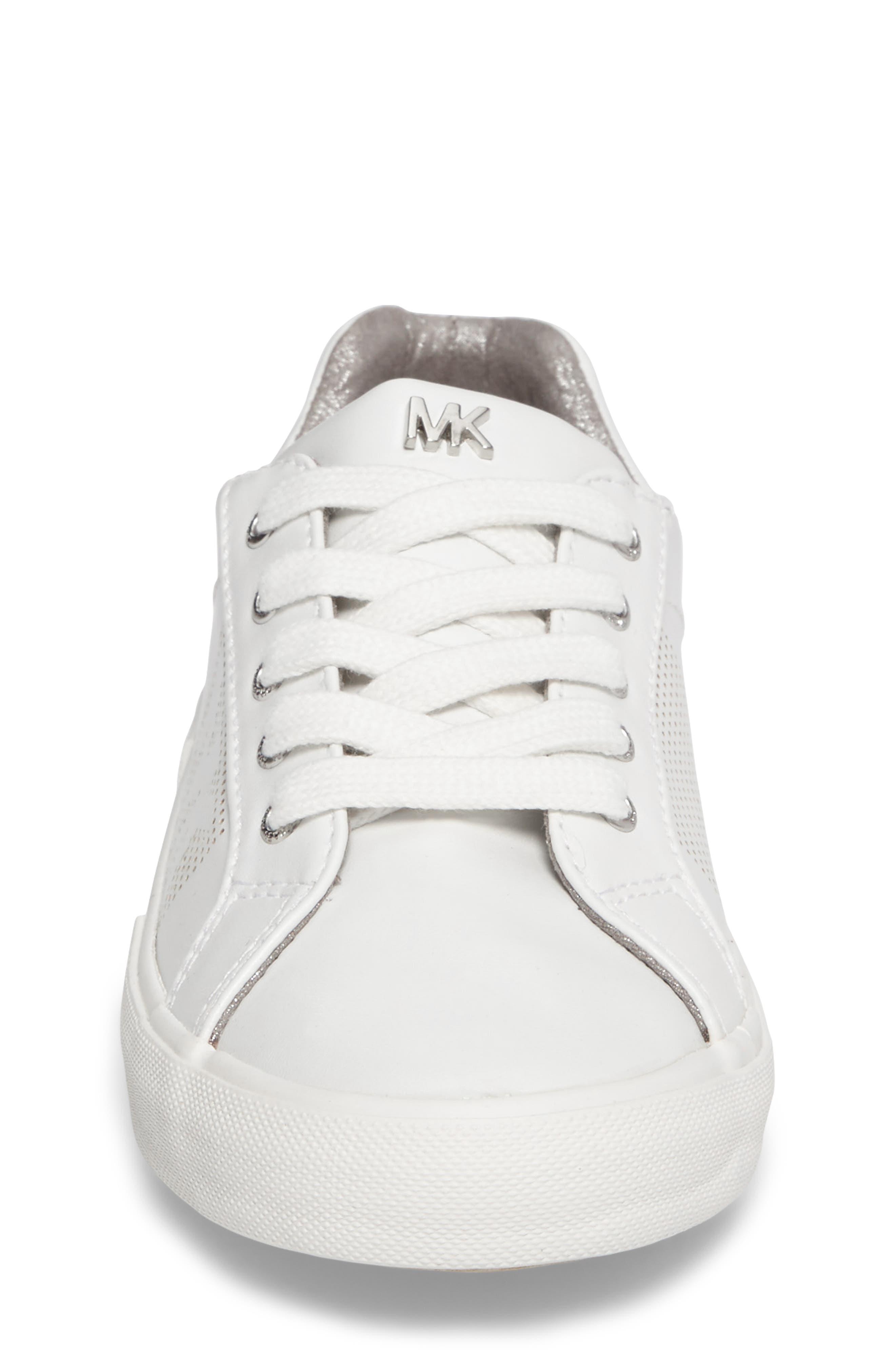 Alternate Image 4  - MICHAEL Michael Kors Ima Court Sneaker (Walker, Toddler, Little Kid & Big Kid)