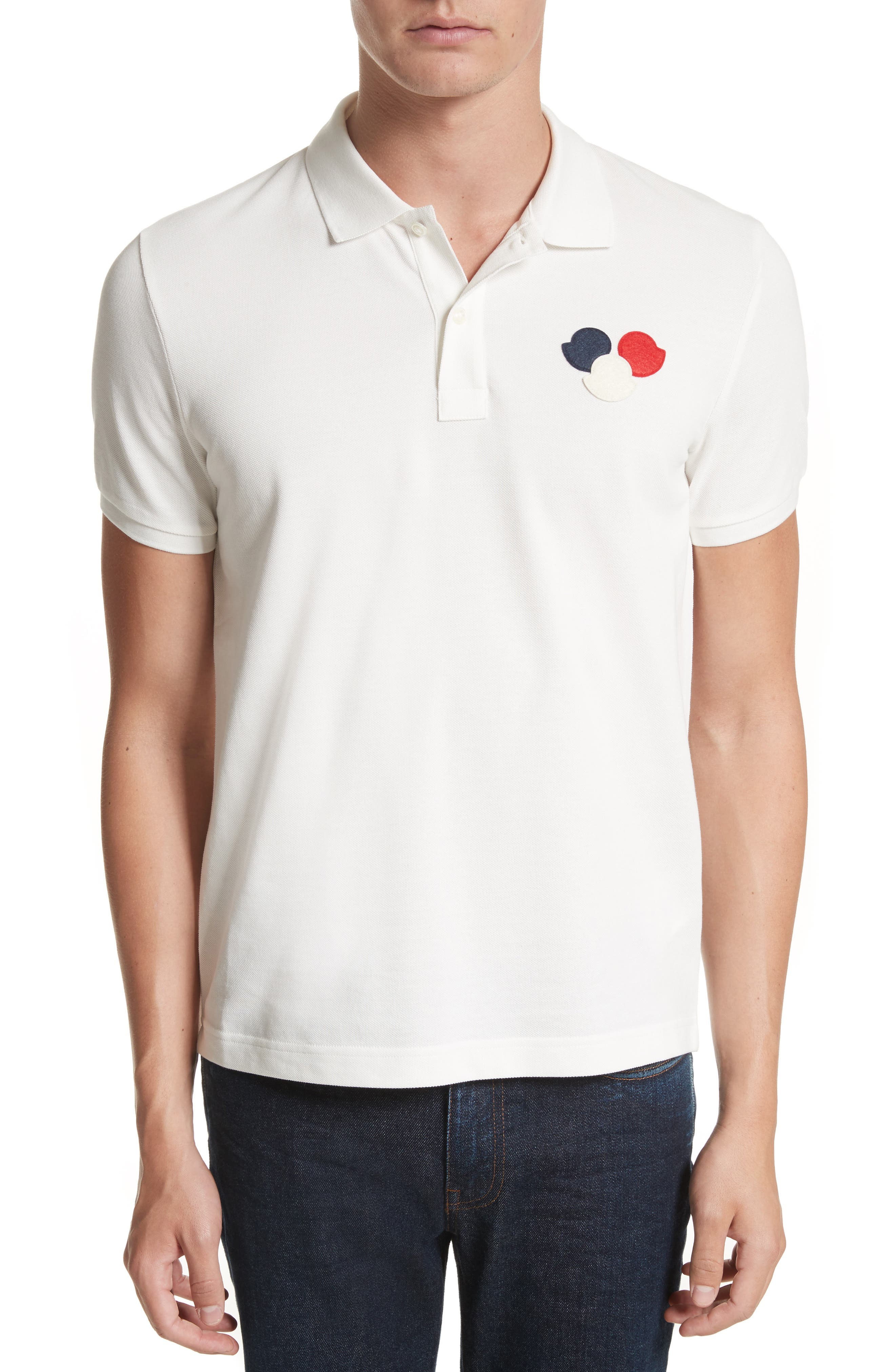 Three Bells Polo,                         Main,                         color, Ivory