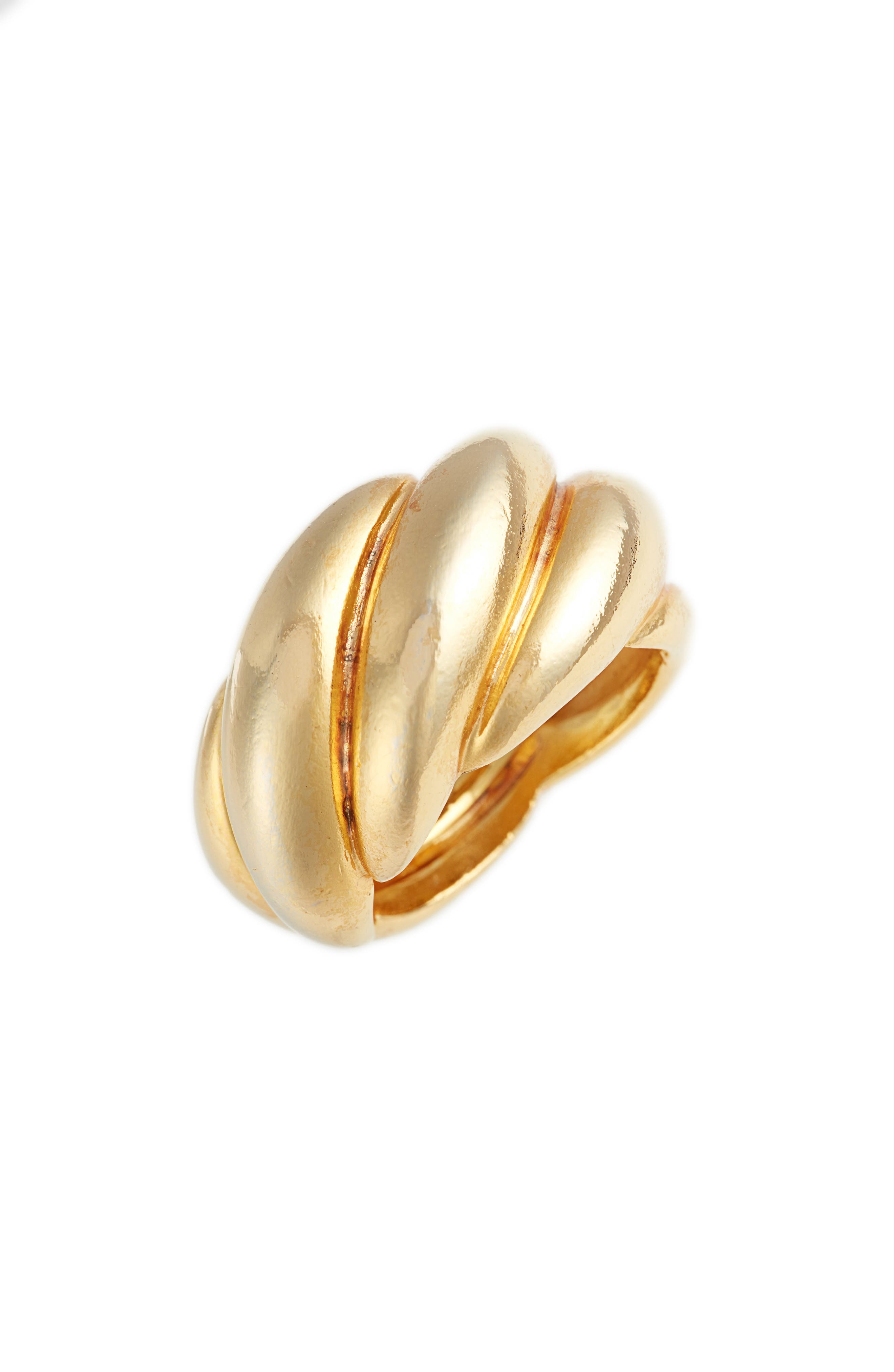 Twisted Rope Ring,                         Main,                         color, Gold