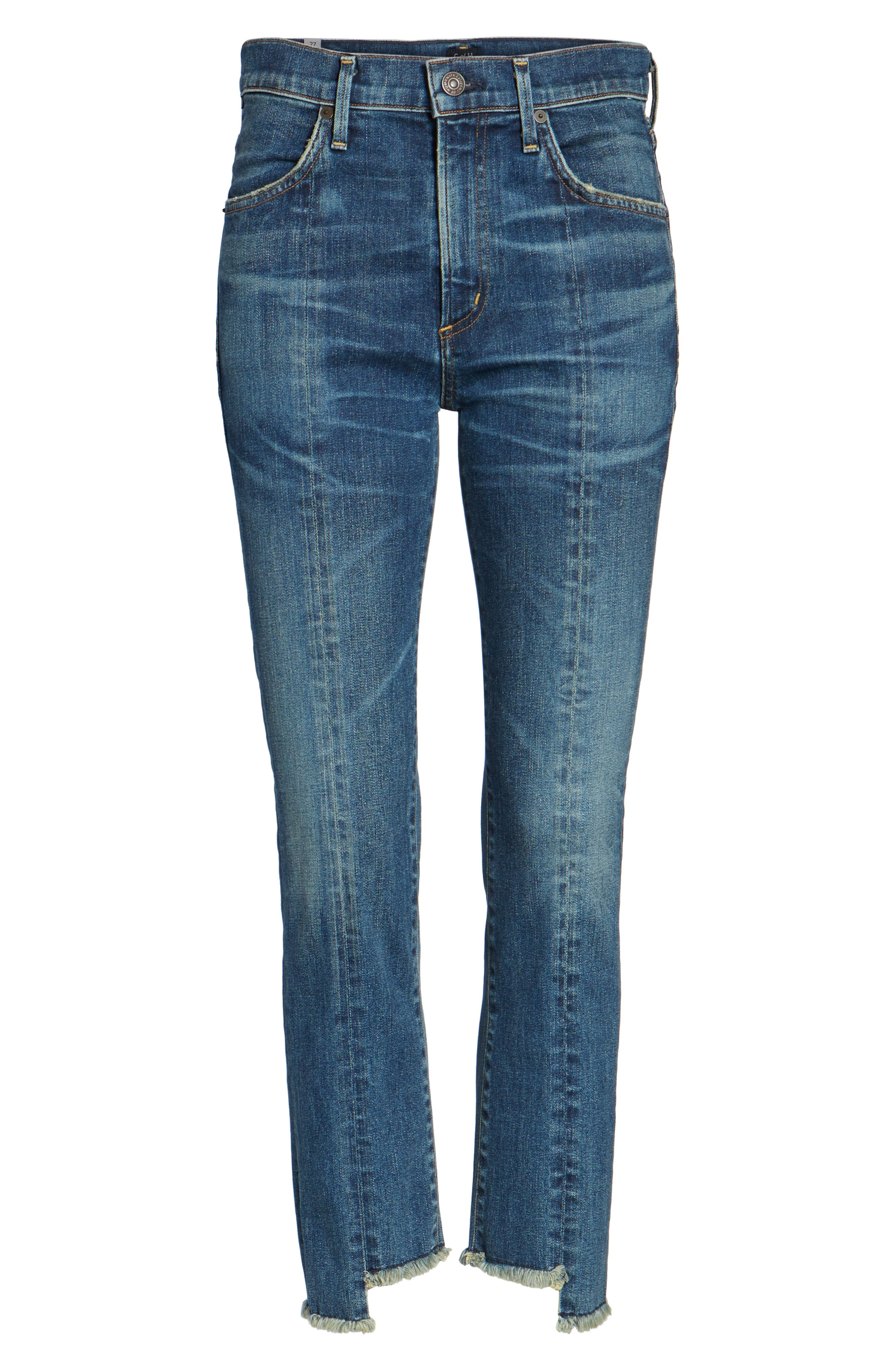 Alternate Image 7  - Citizens of Humanity Amari Step Hem Ankle Jeans (Alterra)