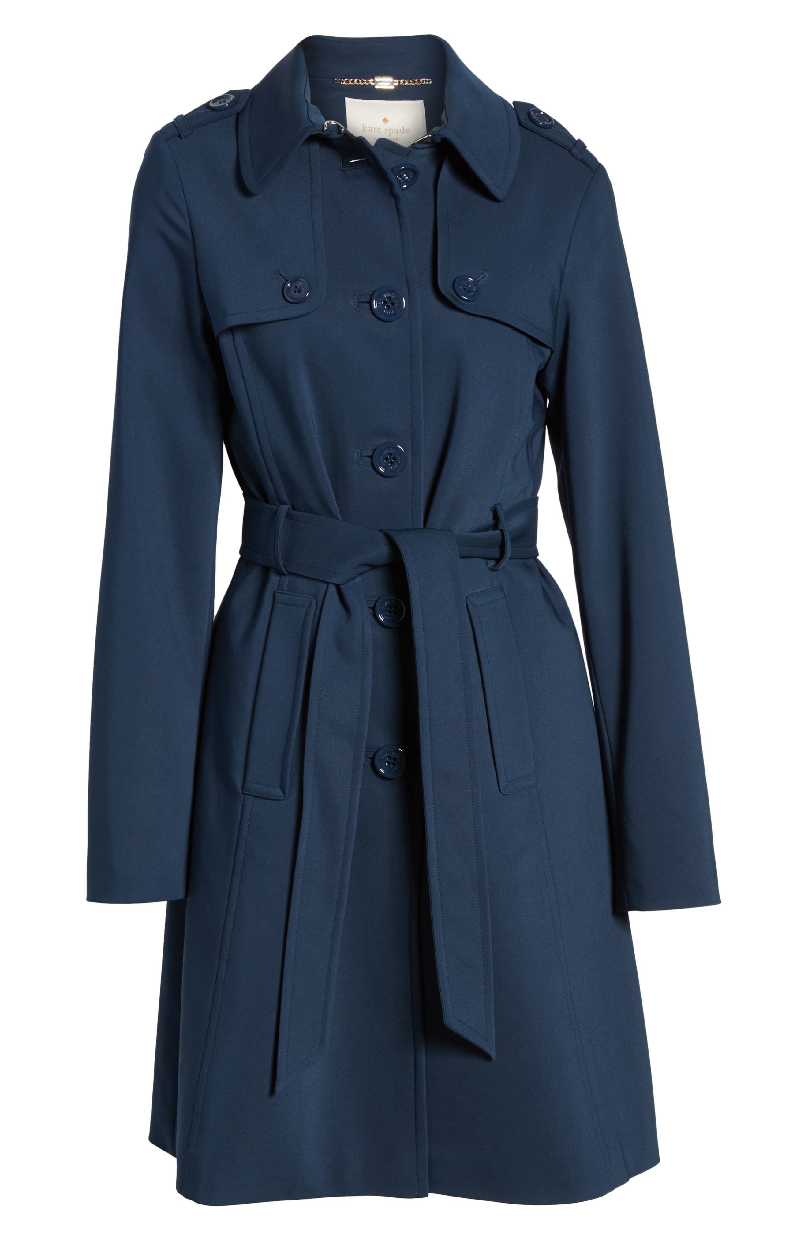 3-in-1 trench coat,                             Alternate thumbnail 6, color,                             Rich Navy
