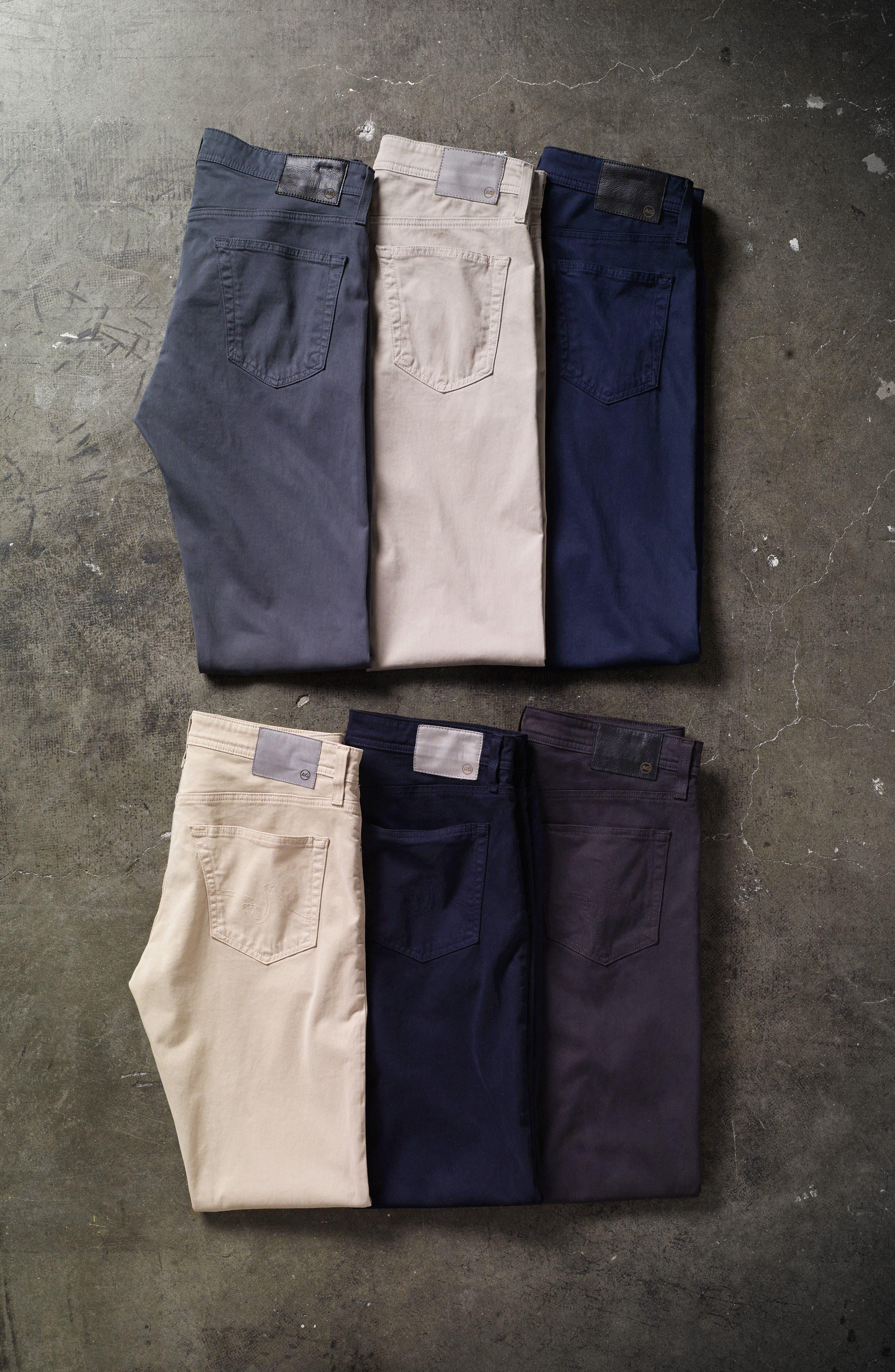 Alternate Image 6  - AG Everett SUD Slim Straight Fit Pants