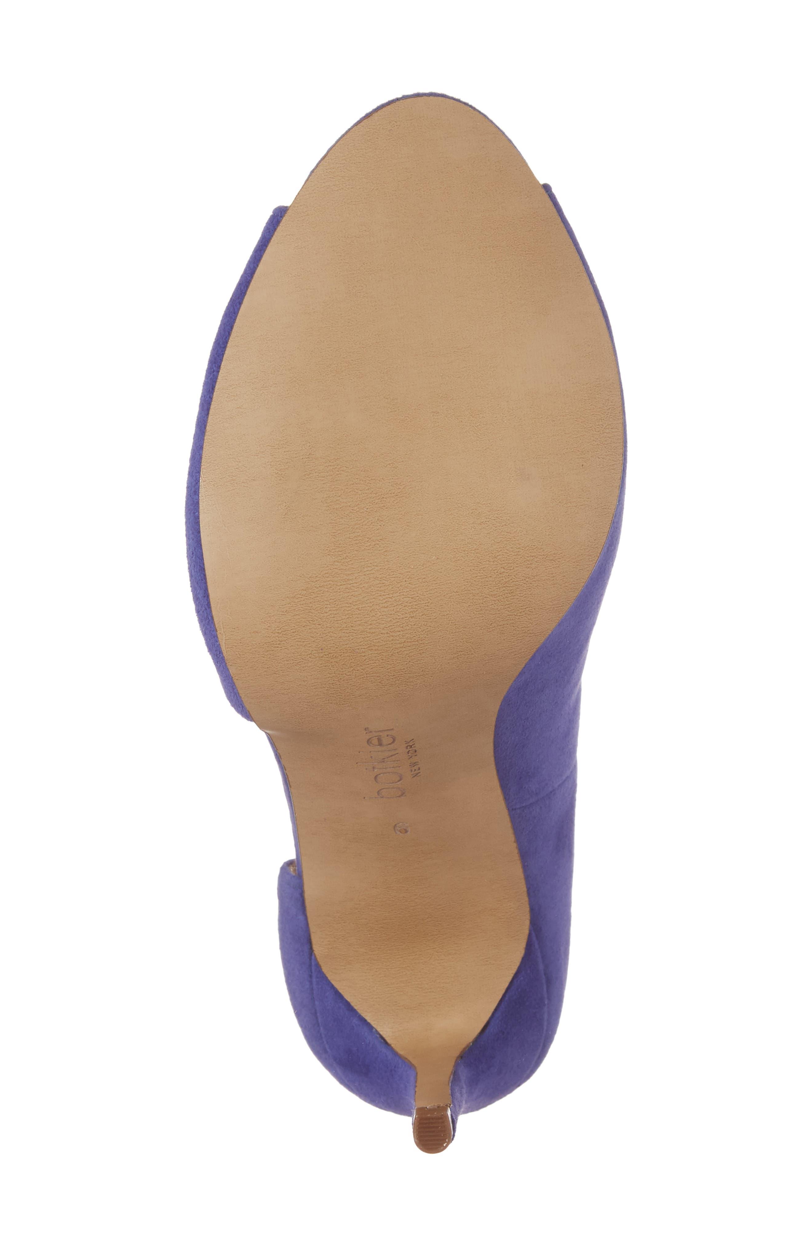 Adelia Asymmetrical Sandal,                             Alternate thumbnail 6, color,                             Blue