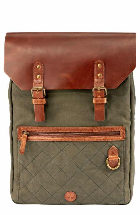 8ea009804c Timberland Tuckerman Leather Laptop Backpack.  250.00. Product Image