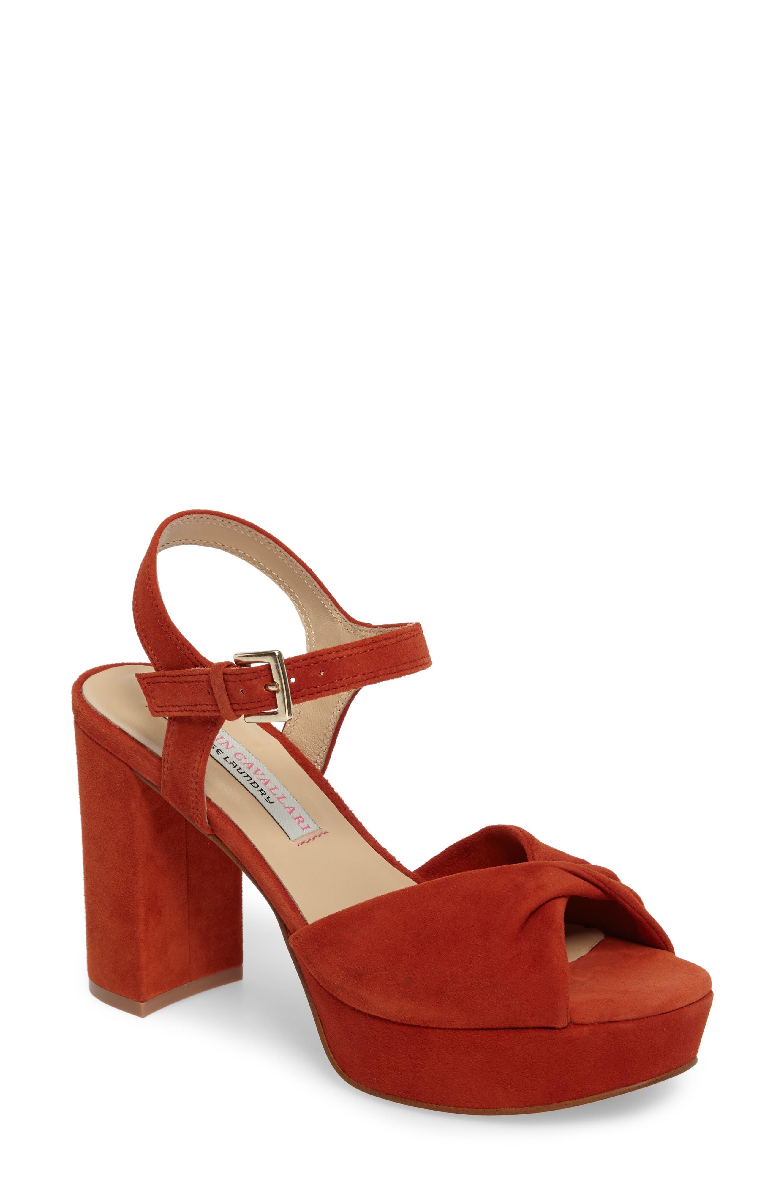 Kristin Cavallari Ryne Twist Toe Platform Sandal (Women)