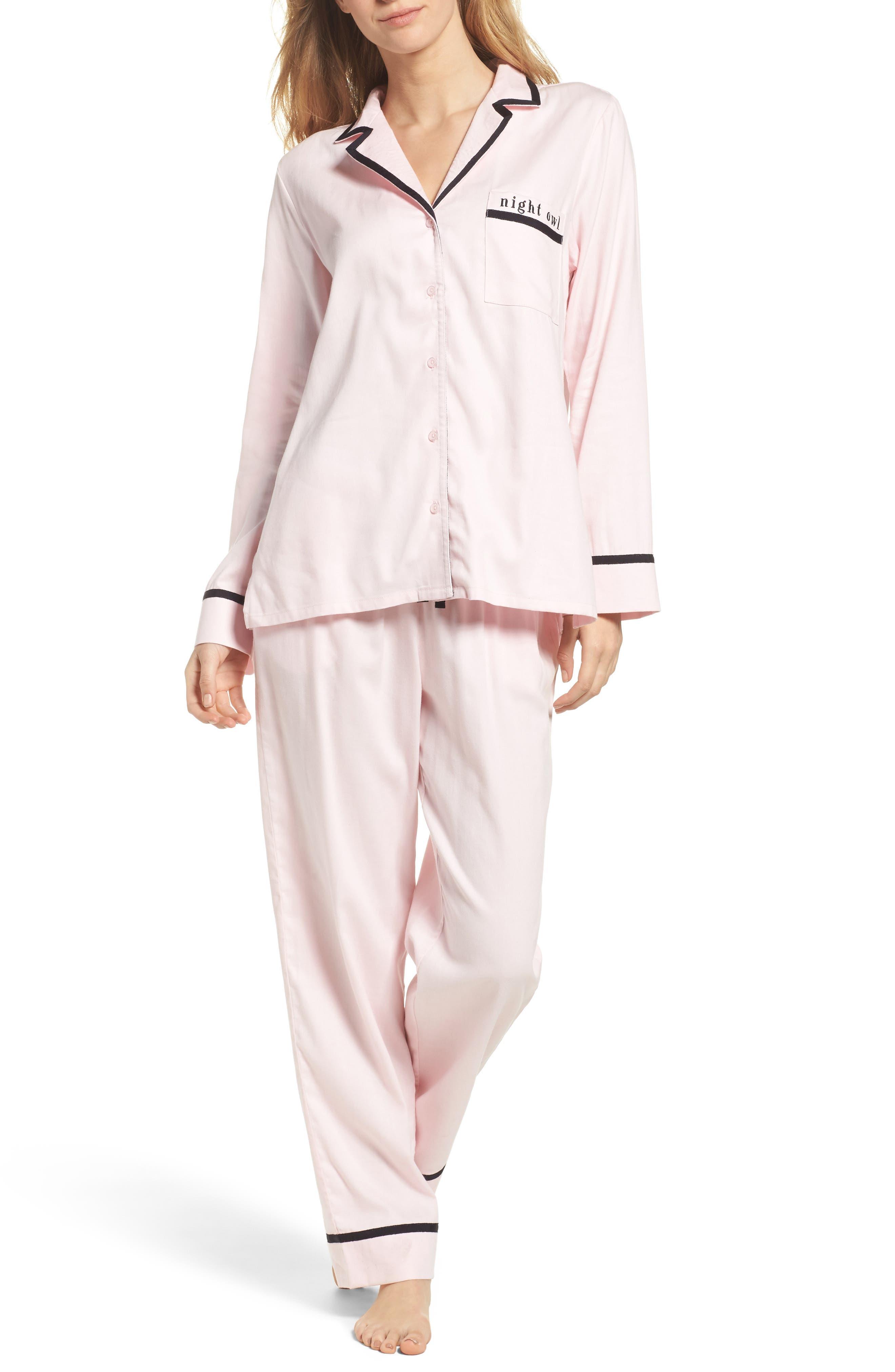 kate spade new york night owl pajamas