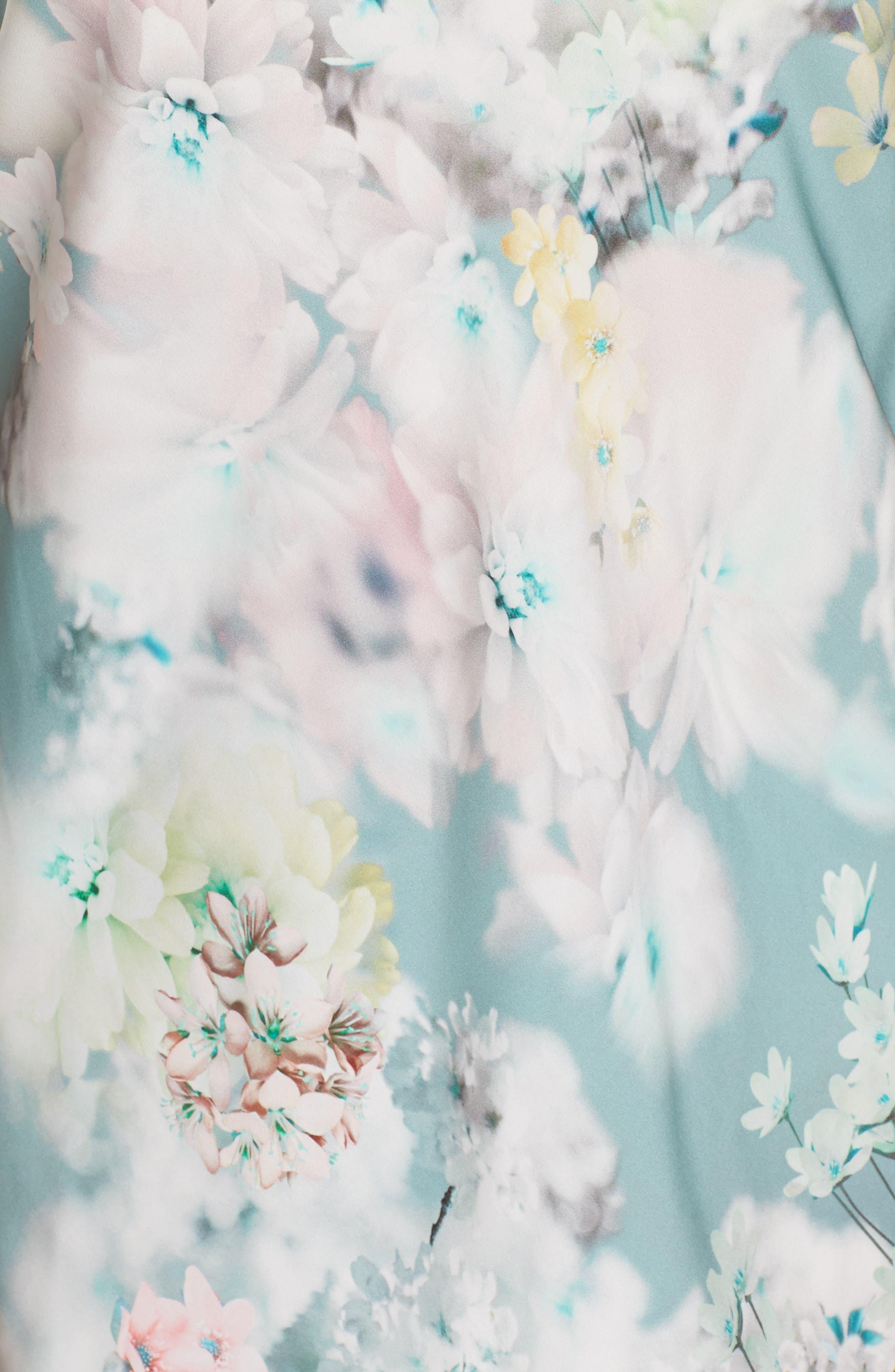 Alternate Image 6  - Flora Nikrooz Kaylee Print Chemise