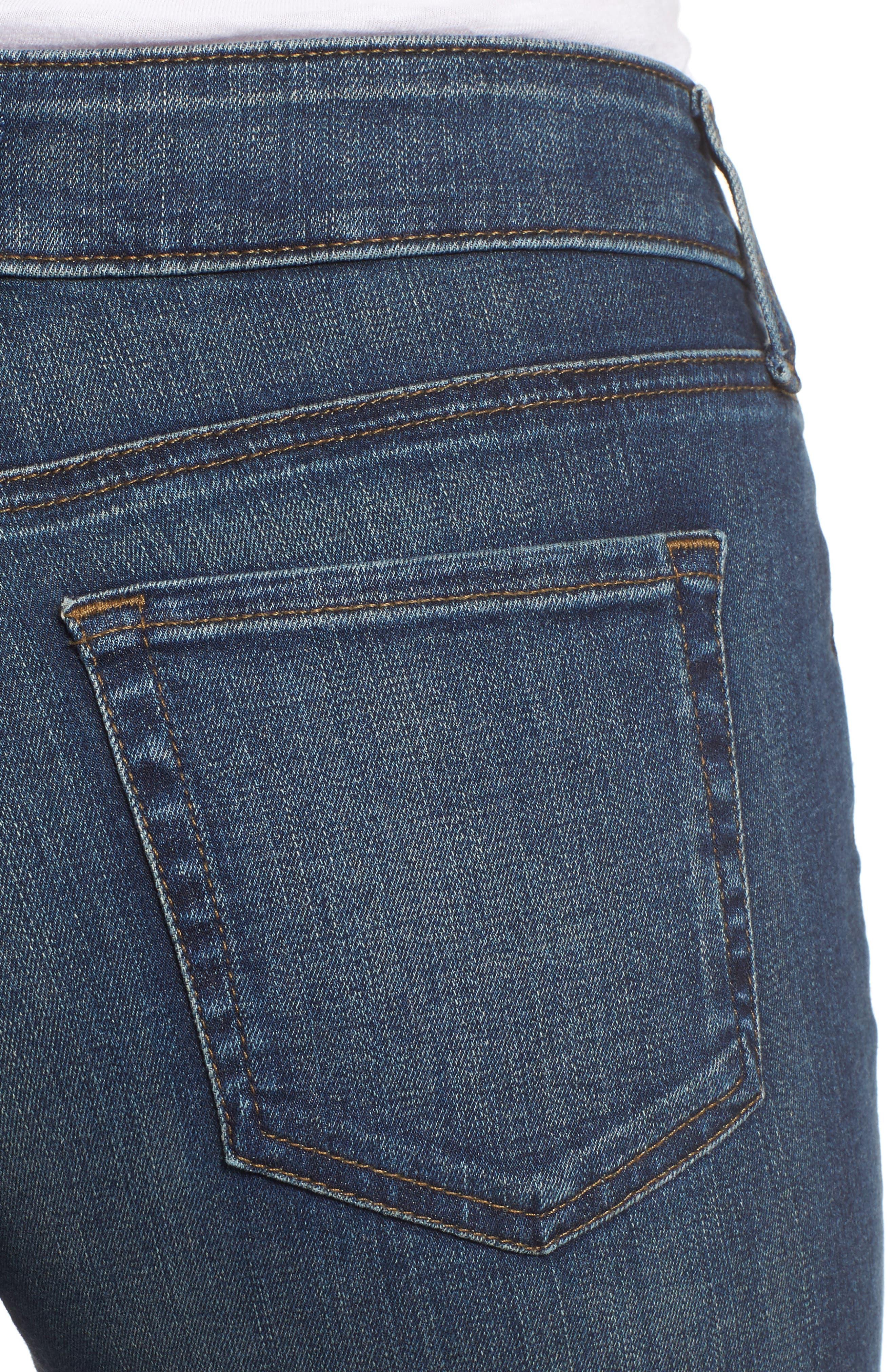 Alternate Image 4  - NYDJ Stretch Boyfriend Jeans (Regular & Petite)