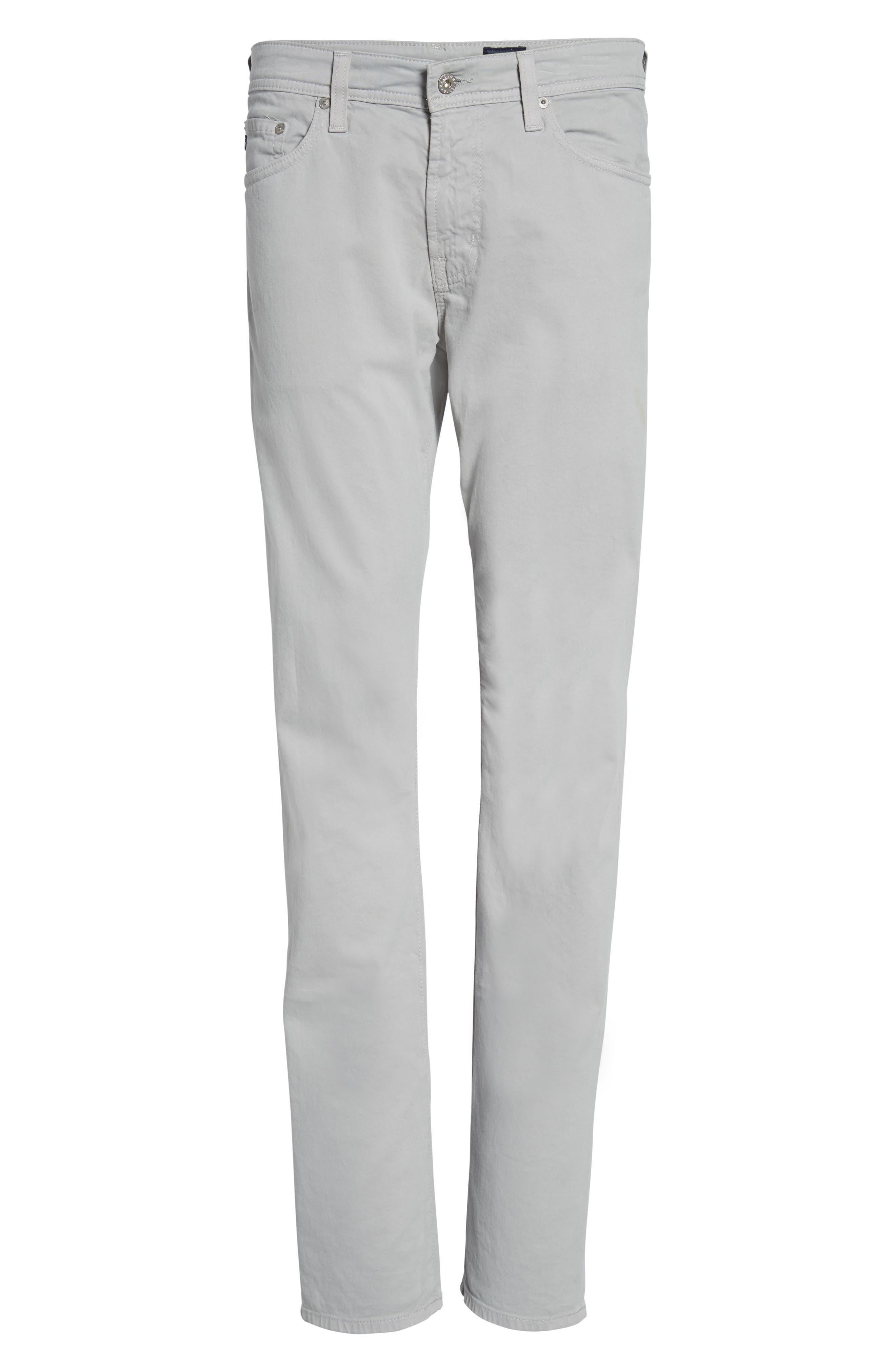 Alternate Image 6  - AG Graduate SUD Slim Straight Leg Pants