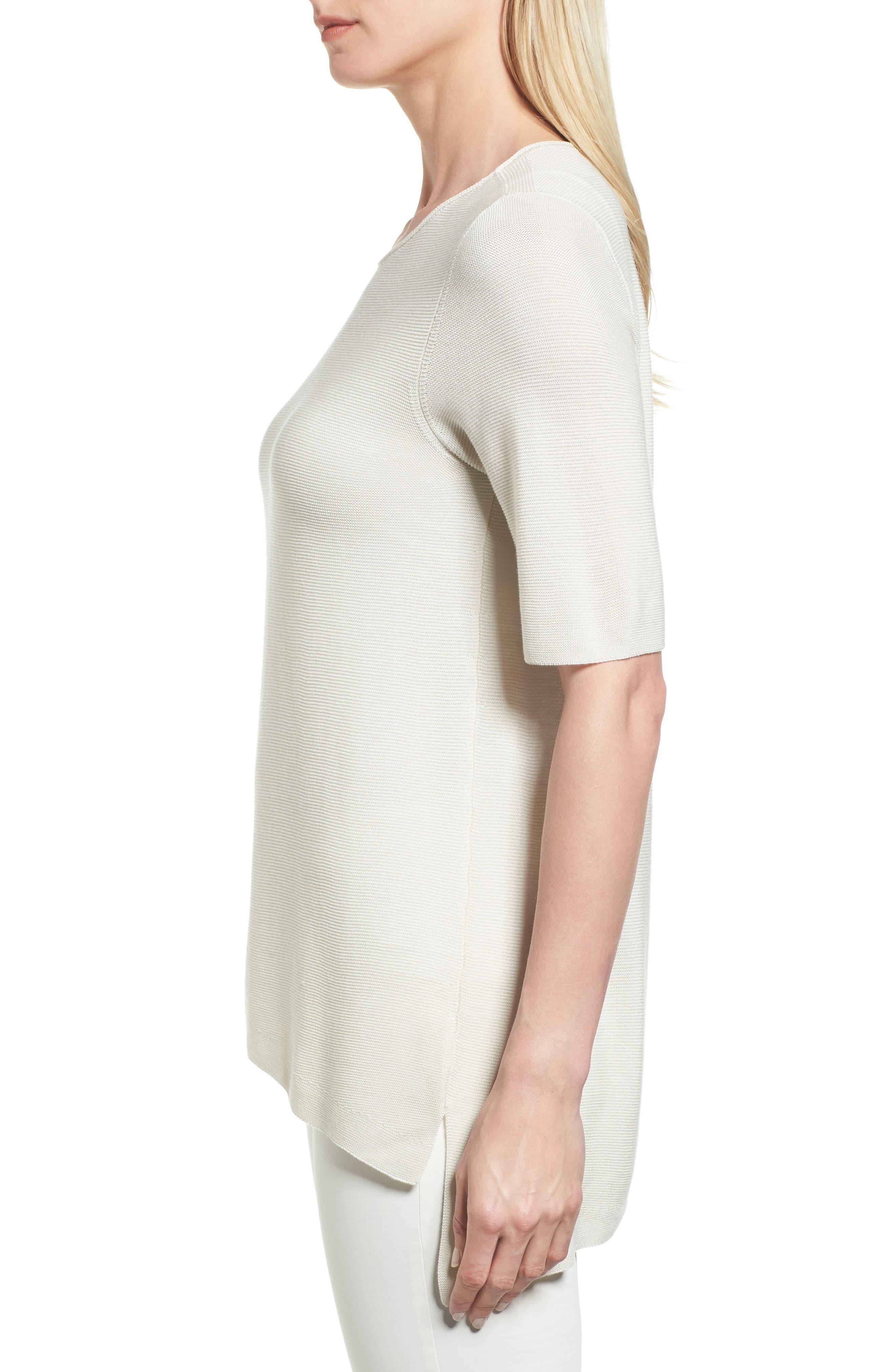 Alternate Image 3  - Eileen Fisher Tencel® Knit Top (Regular & Petite)