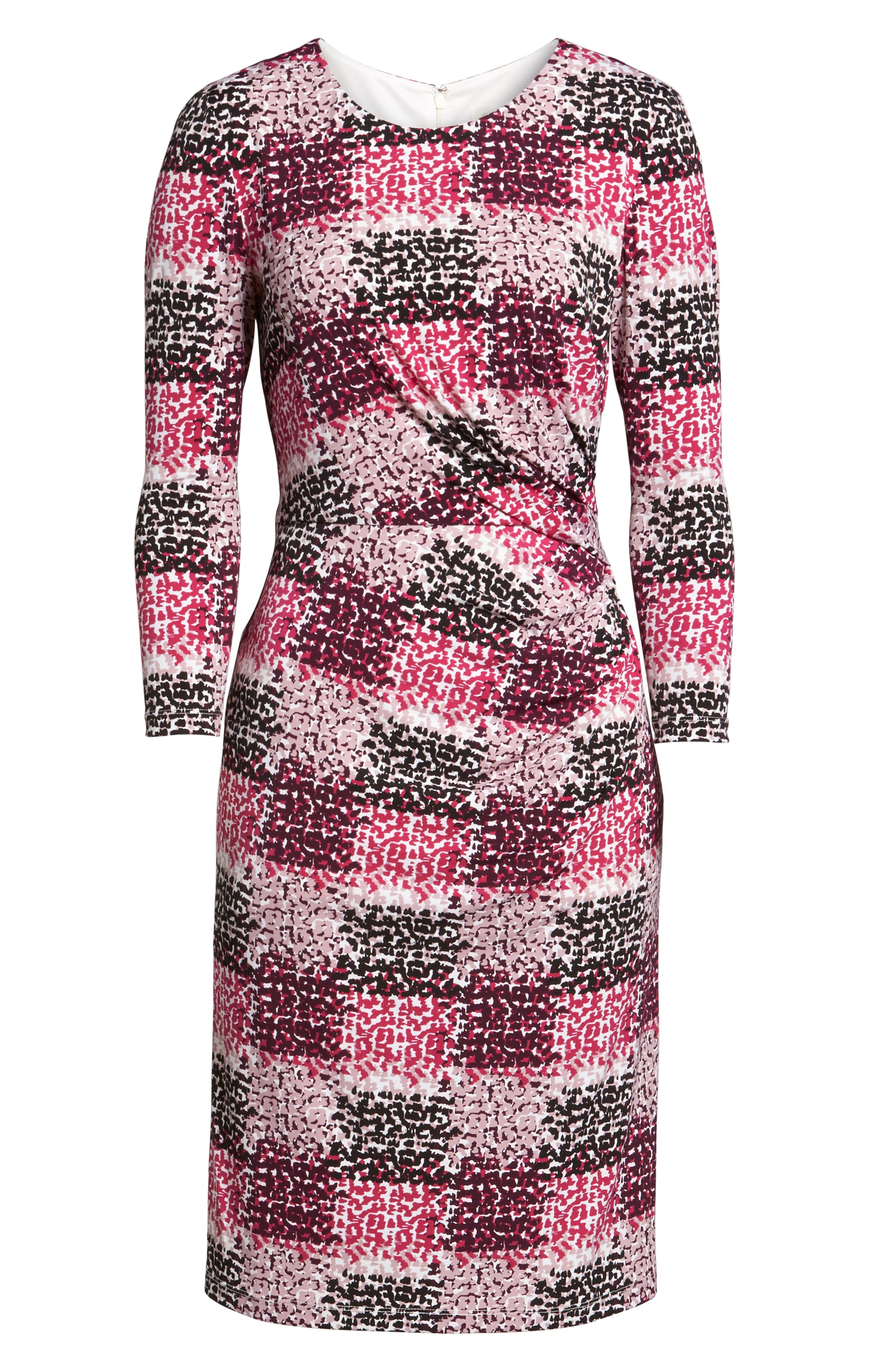 Alternate Image 6  - Eliza J Jersey Sheath Dress (Regular & Petite)