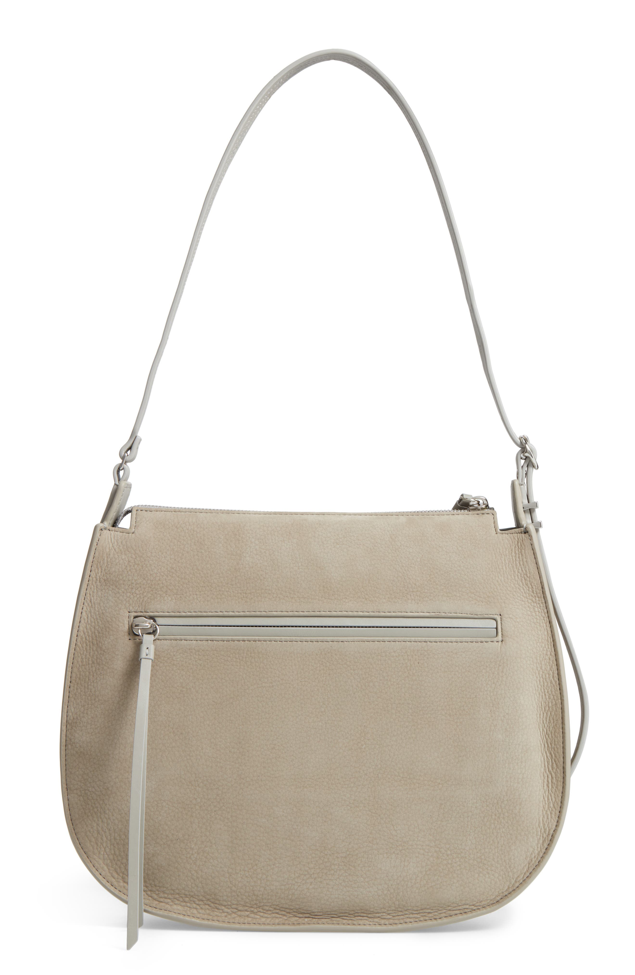 Cooper Nubuck Hobo,                             Alternate thumbnail 3, color,                             Light Cement Grey