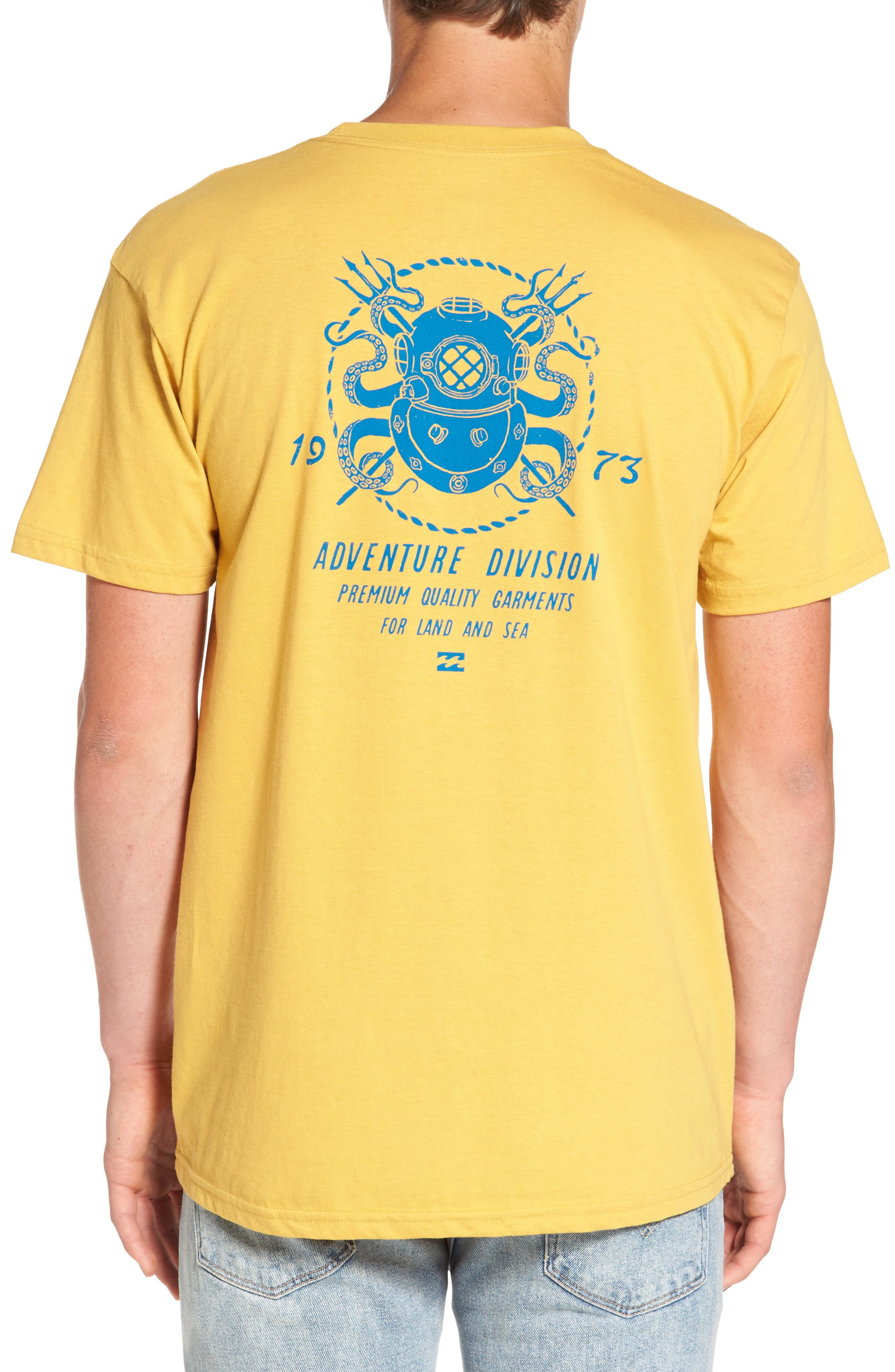 Alternate Image 2  - Billabong Diver Graphic T-Shirt
