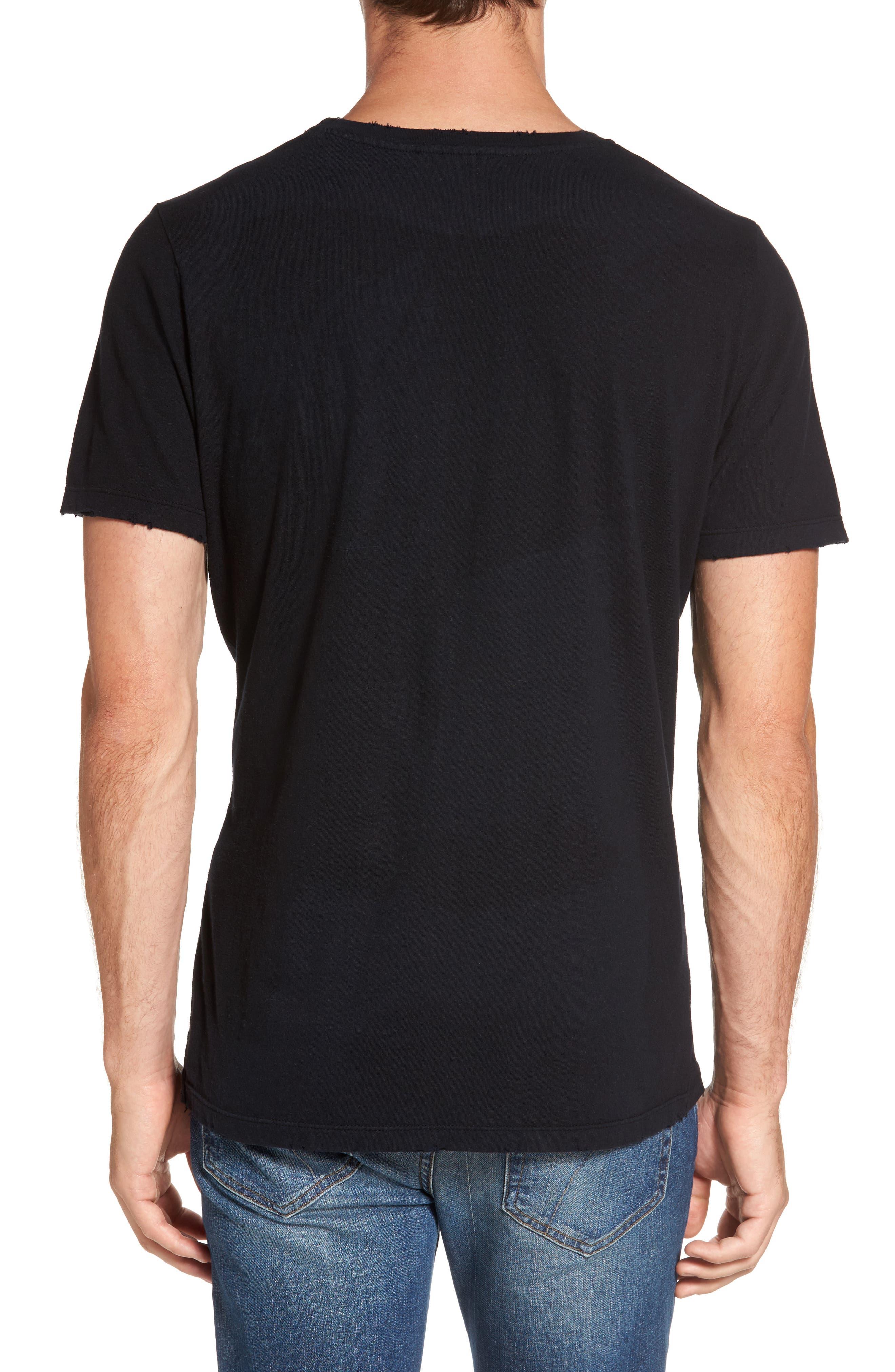 Bronco 3 T-Shirt,                             Alternate thumbnail 2, color,                             Noir