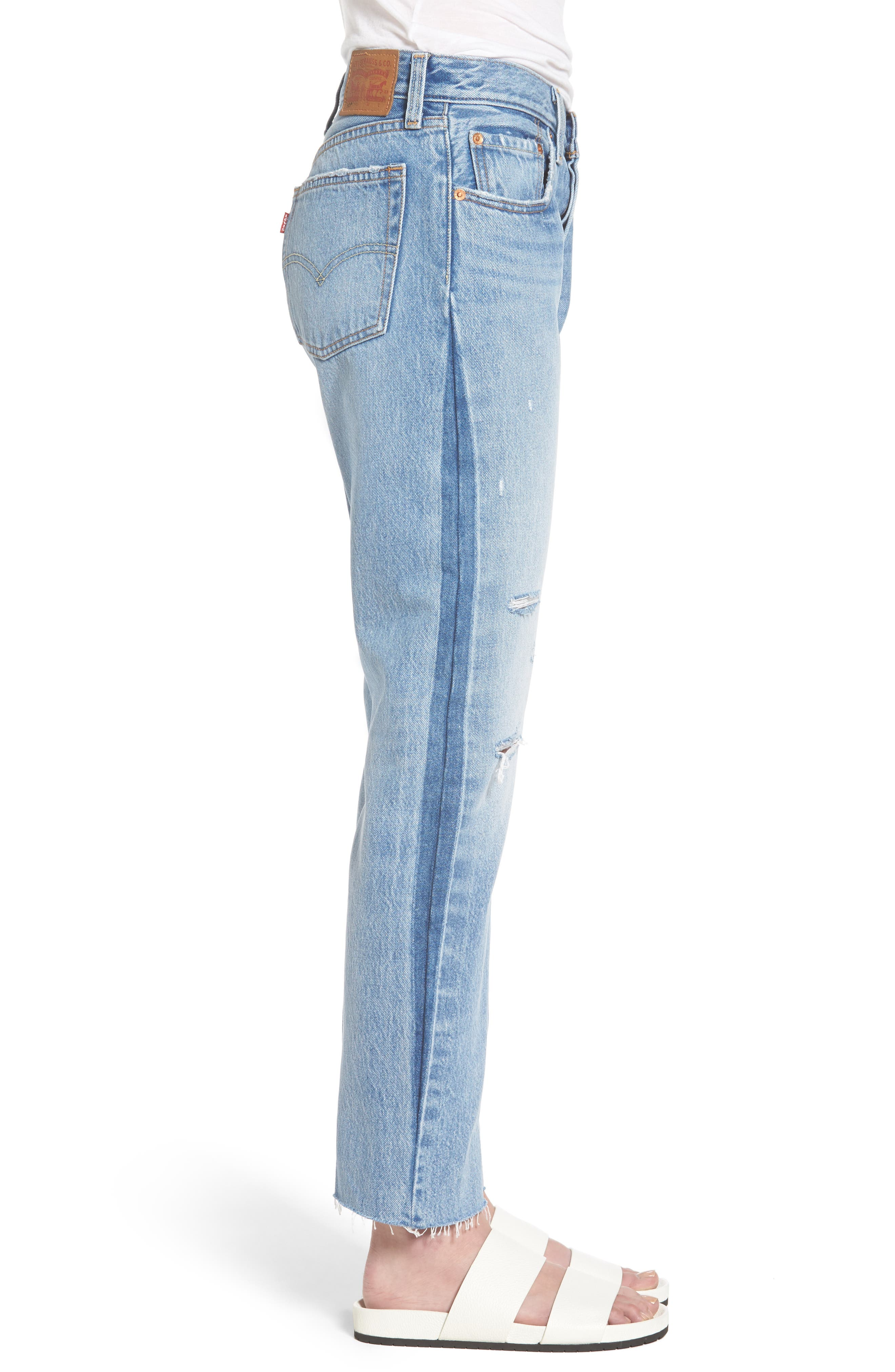 Alternate Image 3  - Levi's® 501 Crop Jeans (You Pretty Thing)