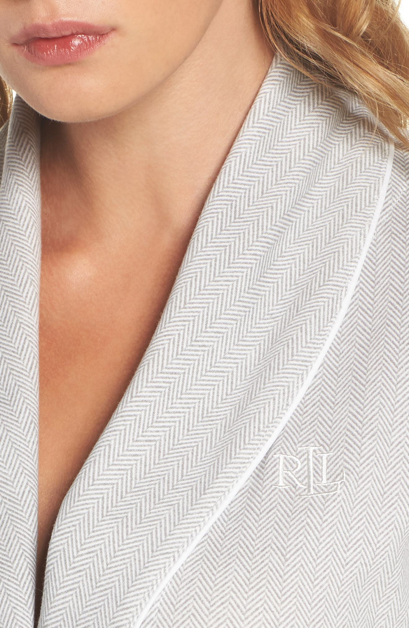 Alternate Image 4  - Lauren Ralph Lauren Short Robe