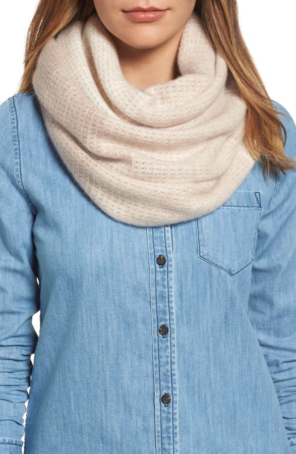 Super soft infinity scarf