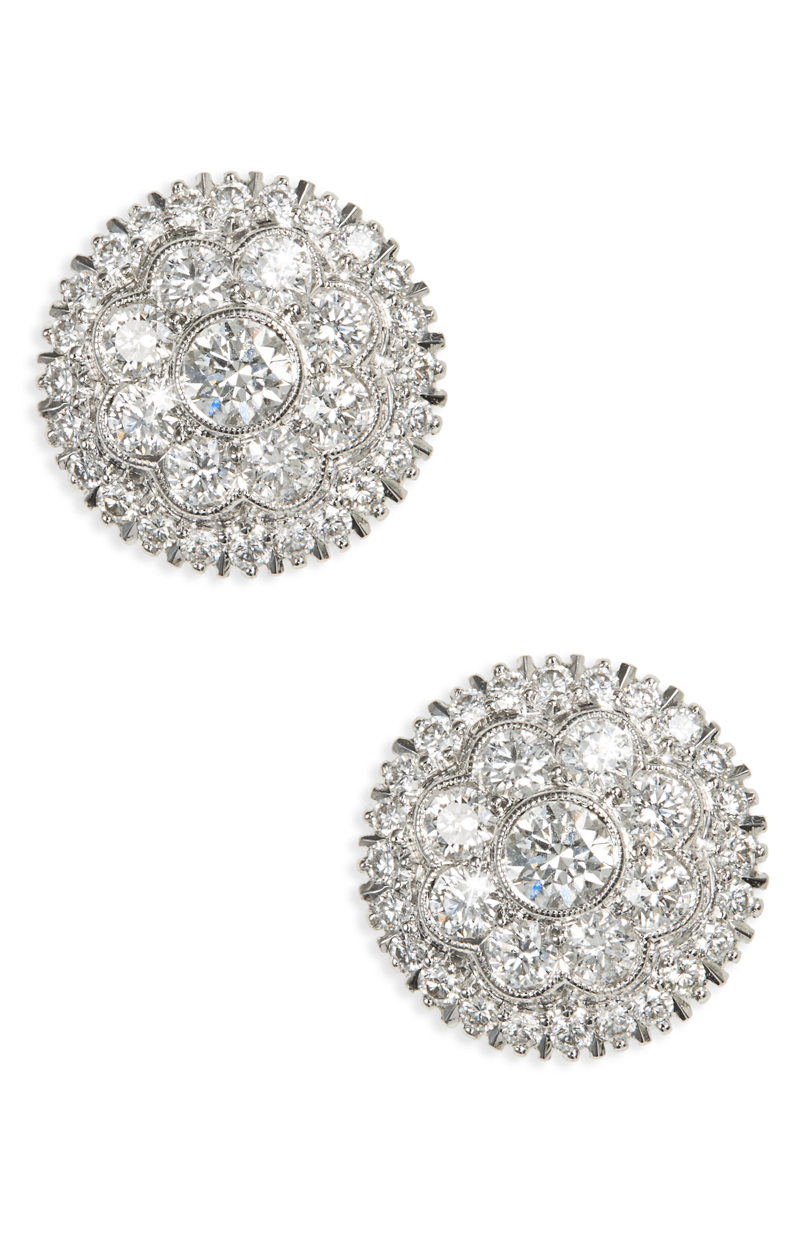 Main Image - Kwiat Diamond Stud Earrings