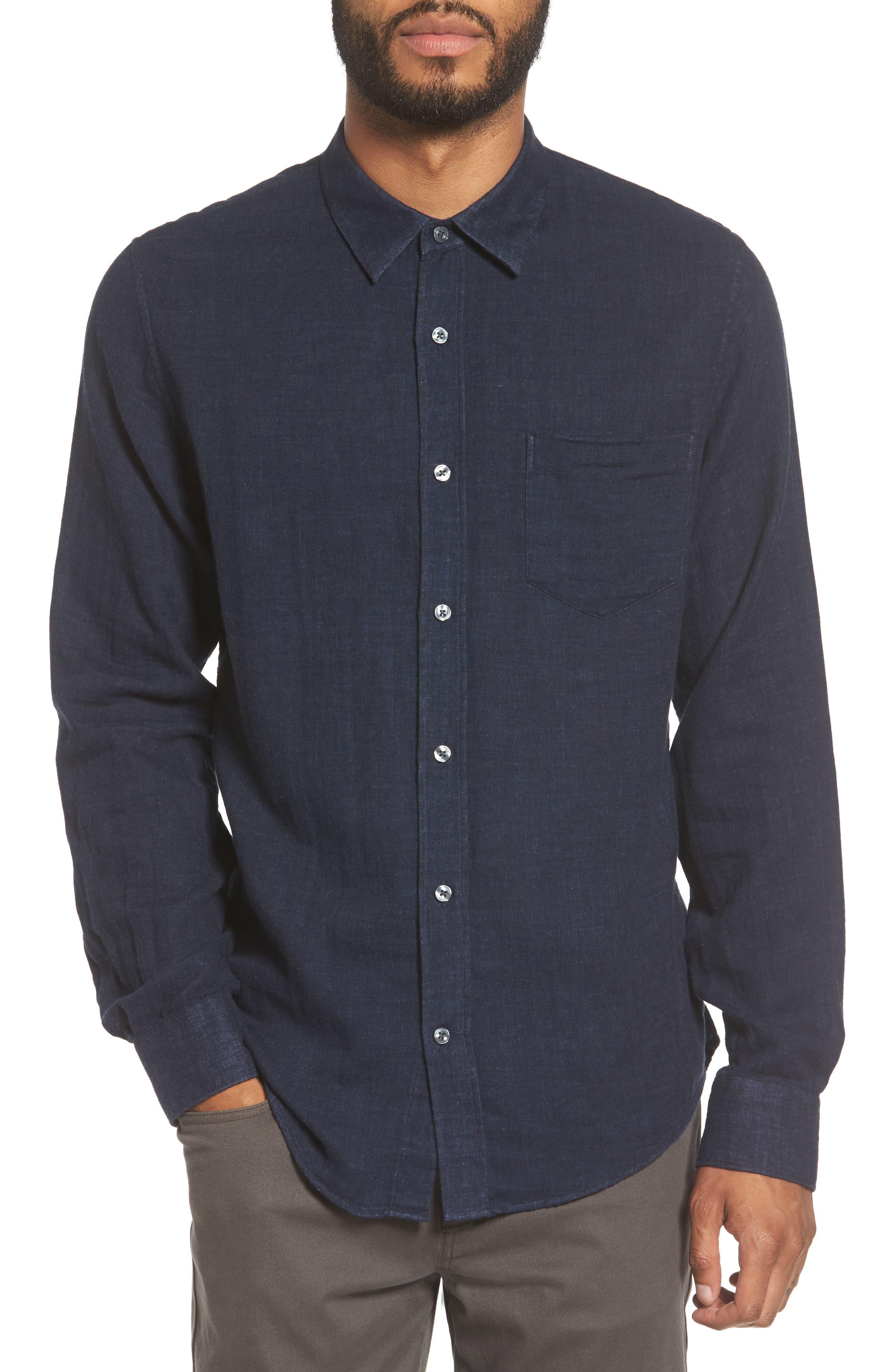 Alternate Image 1 Selected - Vince Regular Fit Solid Sport Shirt