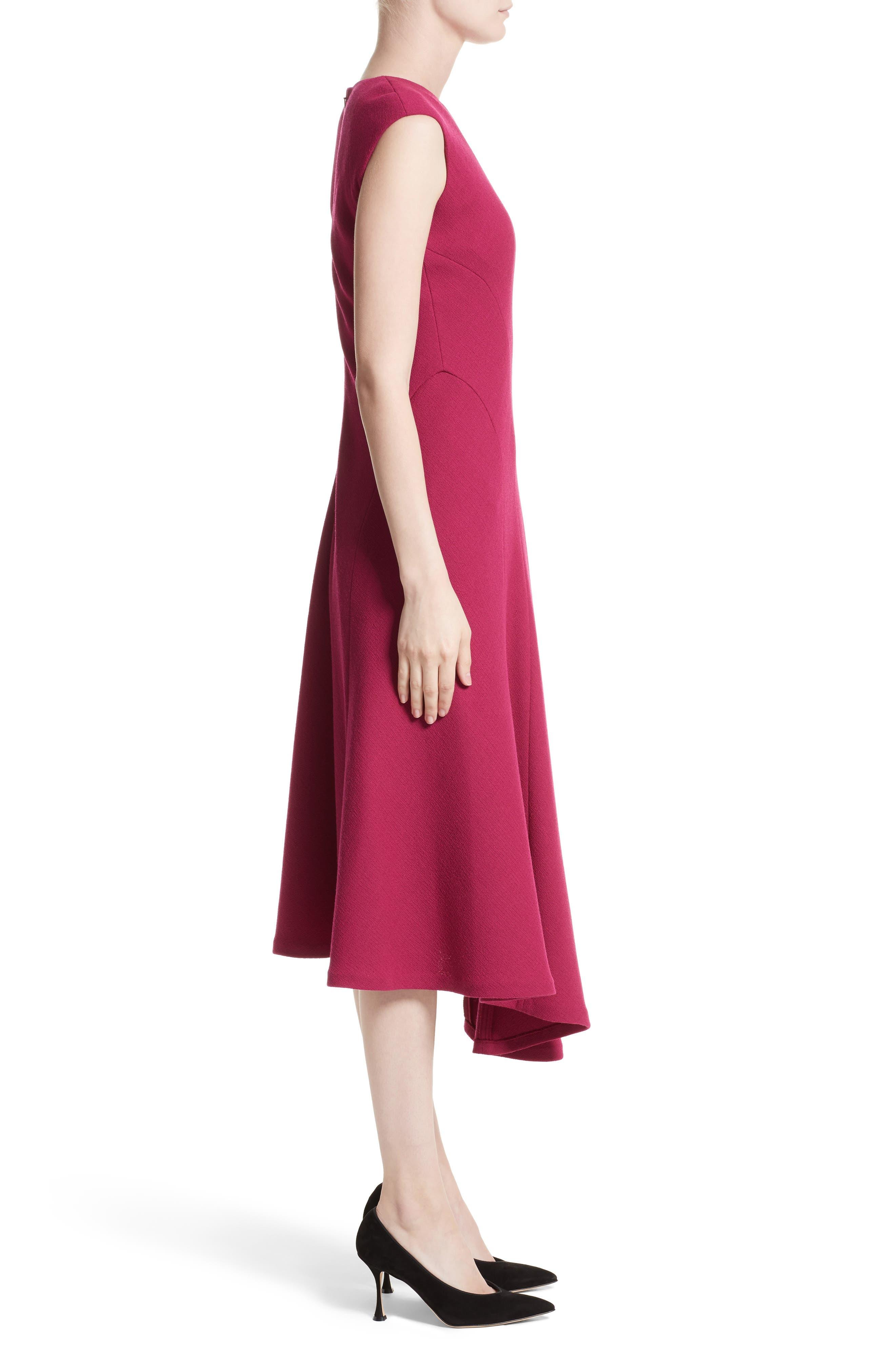 Alternate Image 3  - Lafayette 148 New York Aveena Wool Interlock Dress