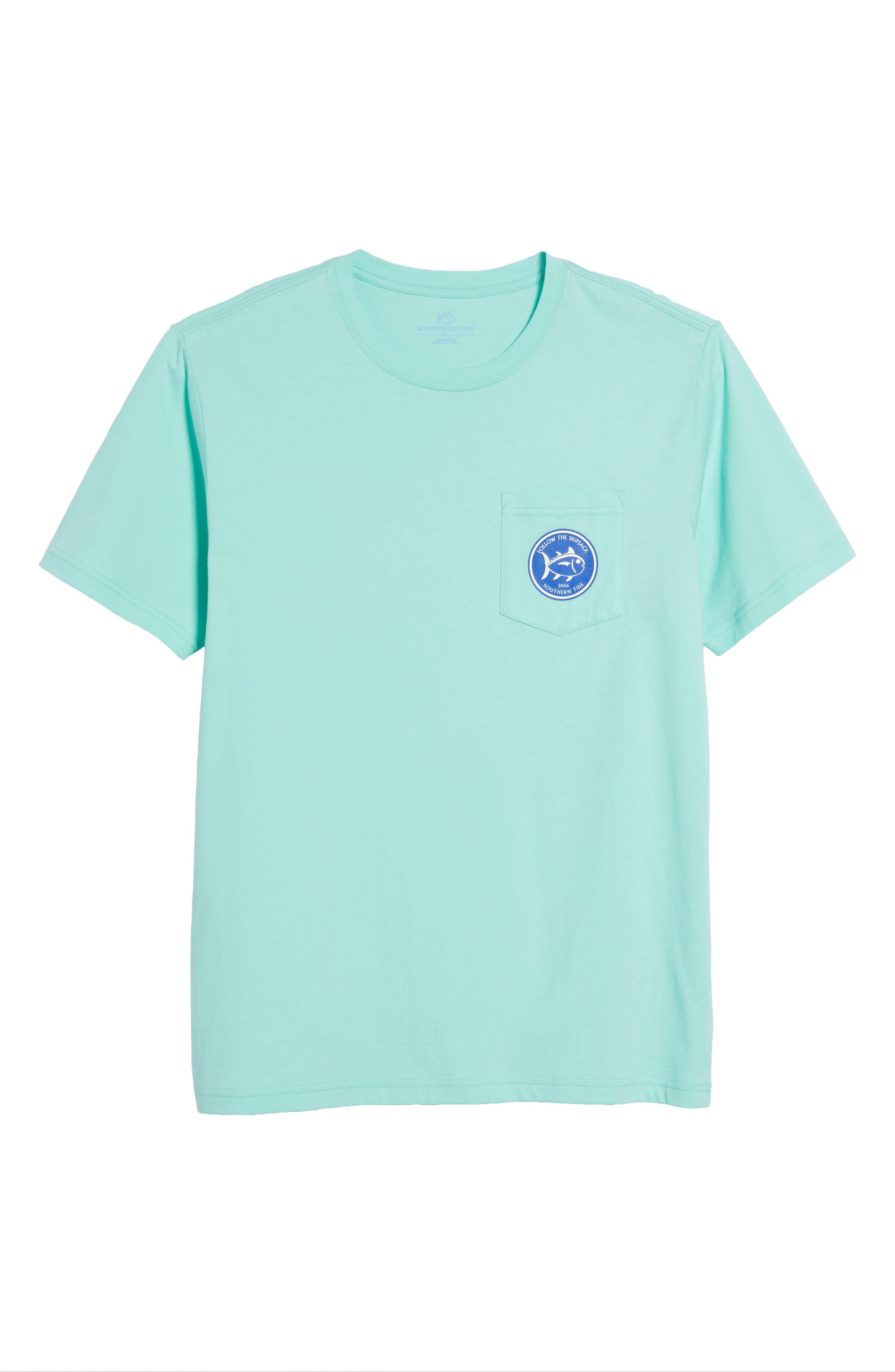 Alternate Image 6  - Southern Tide Classic Fit Quarters Master T-Shirt