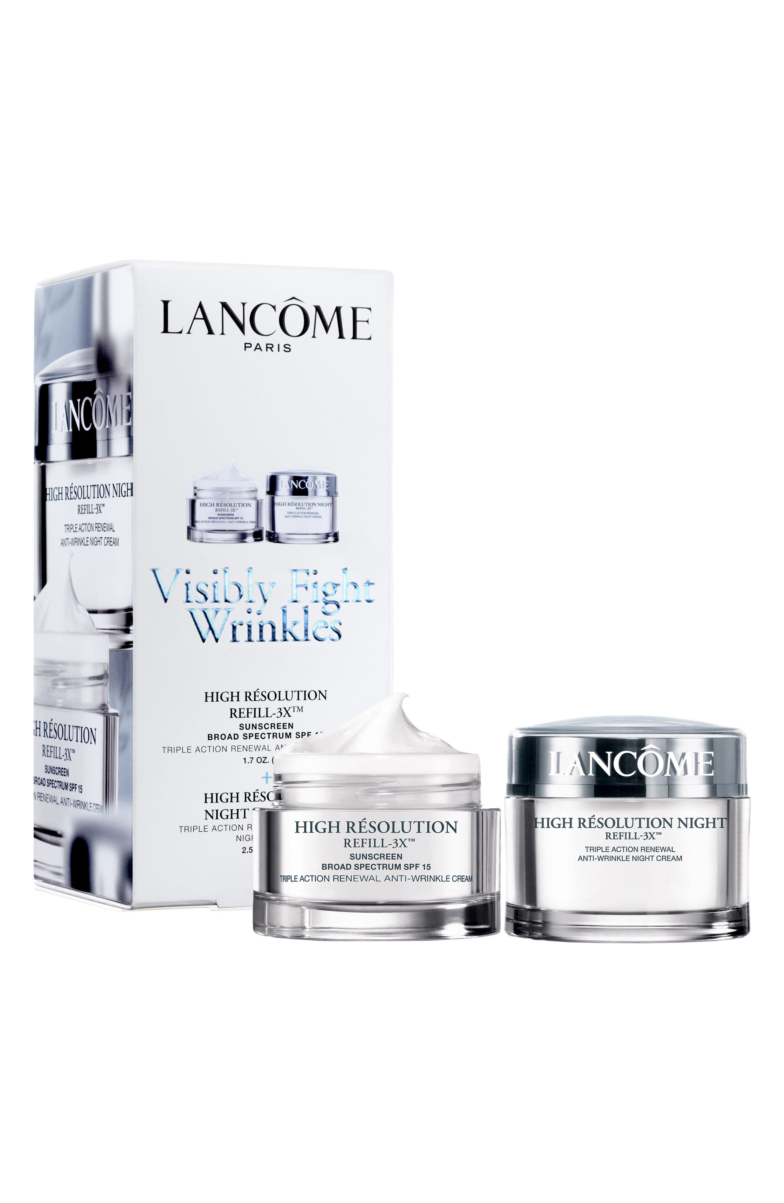 Main Image - Lancôme High Résolution Refill-3X™ Duo ($174 Value)