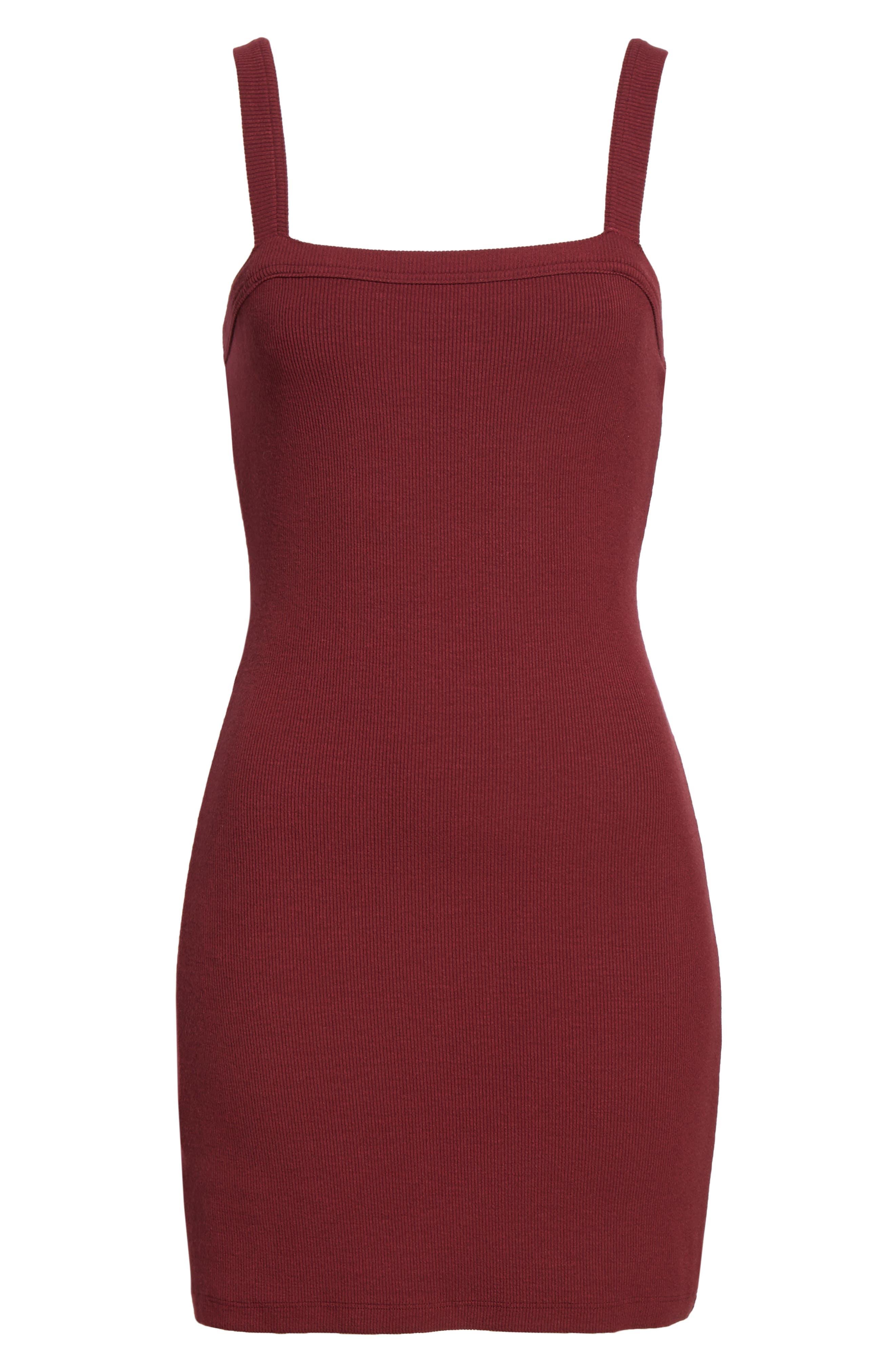 Alternate Image 6  - Privacy Please Bradian Body-Con Dress