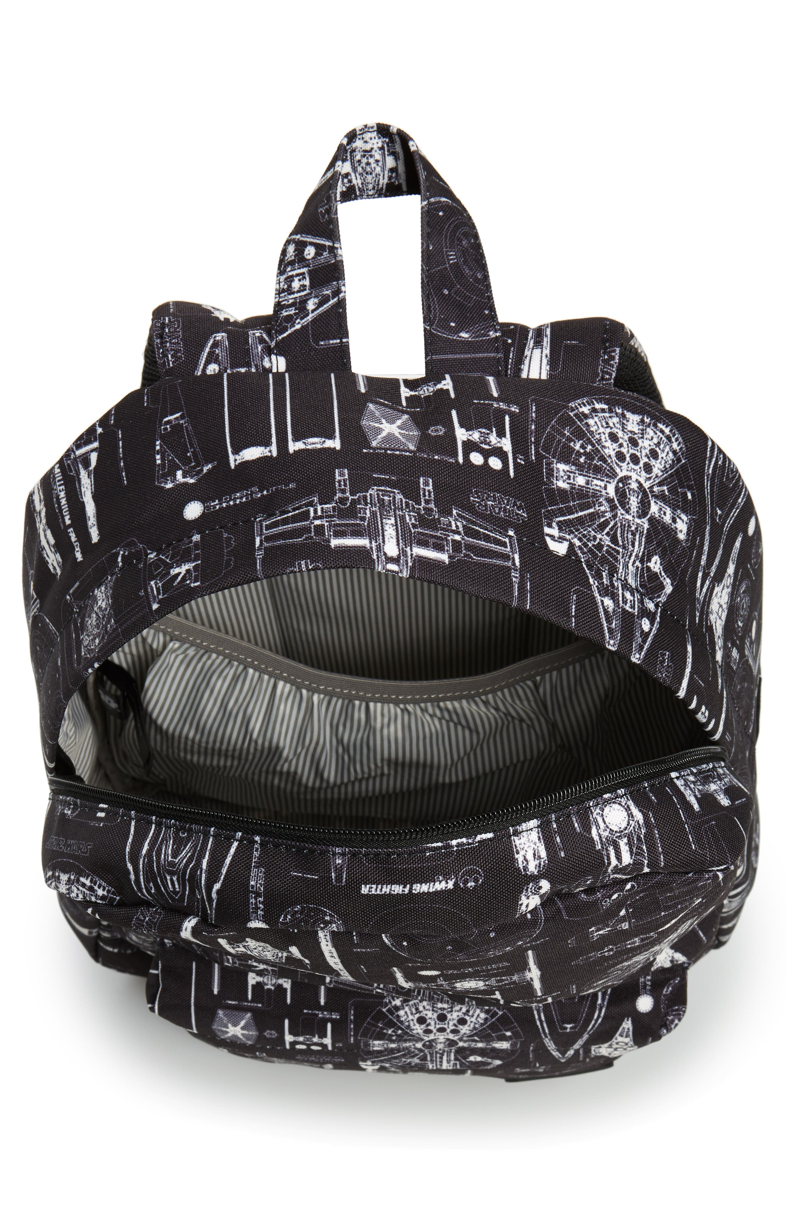 Star Wars<sup>™</sup> The Force Awakens Blueprint Backpack,                             Alternate thumbnail 3, color,                             Black