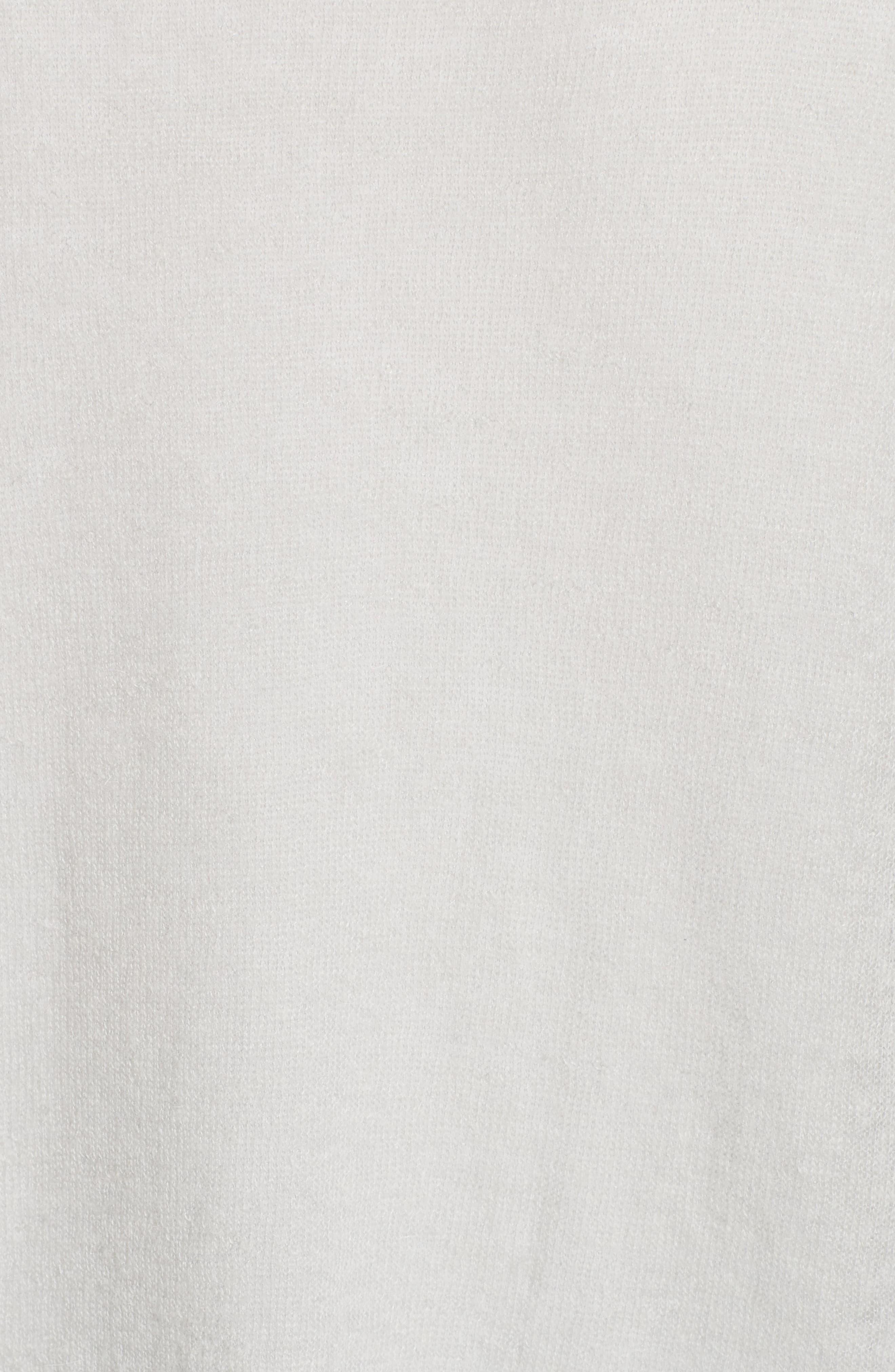 Alternate Image 6  - Lafayette 148 New York Sequin Trim Sweater with Tank