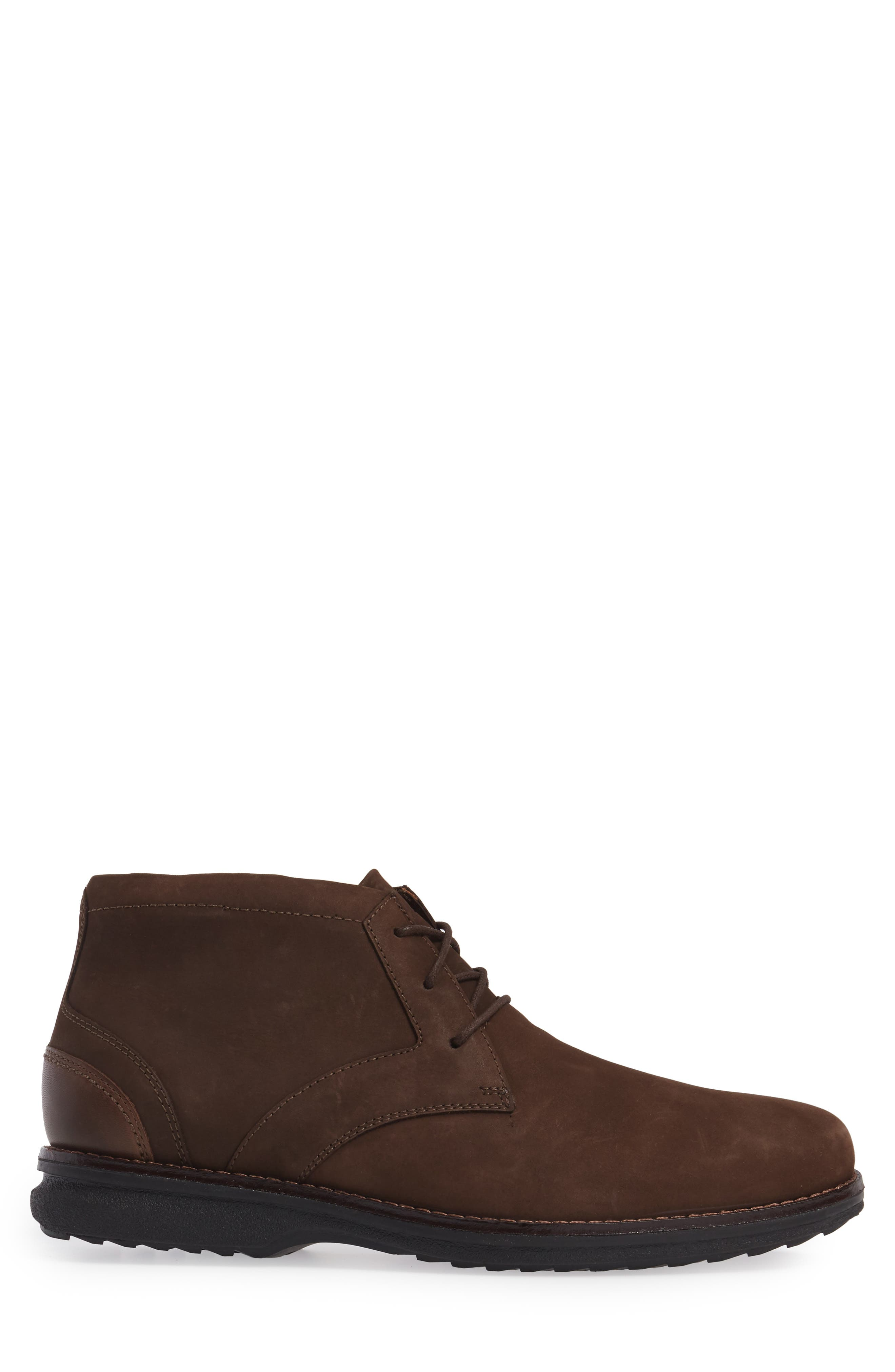 Premium Class Chukka Boot,                             Alternate thumbnail 3, color,                             Brown Nubuck