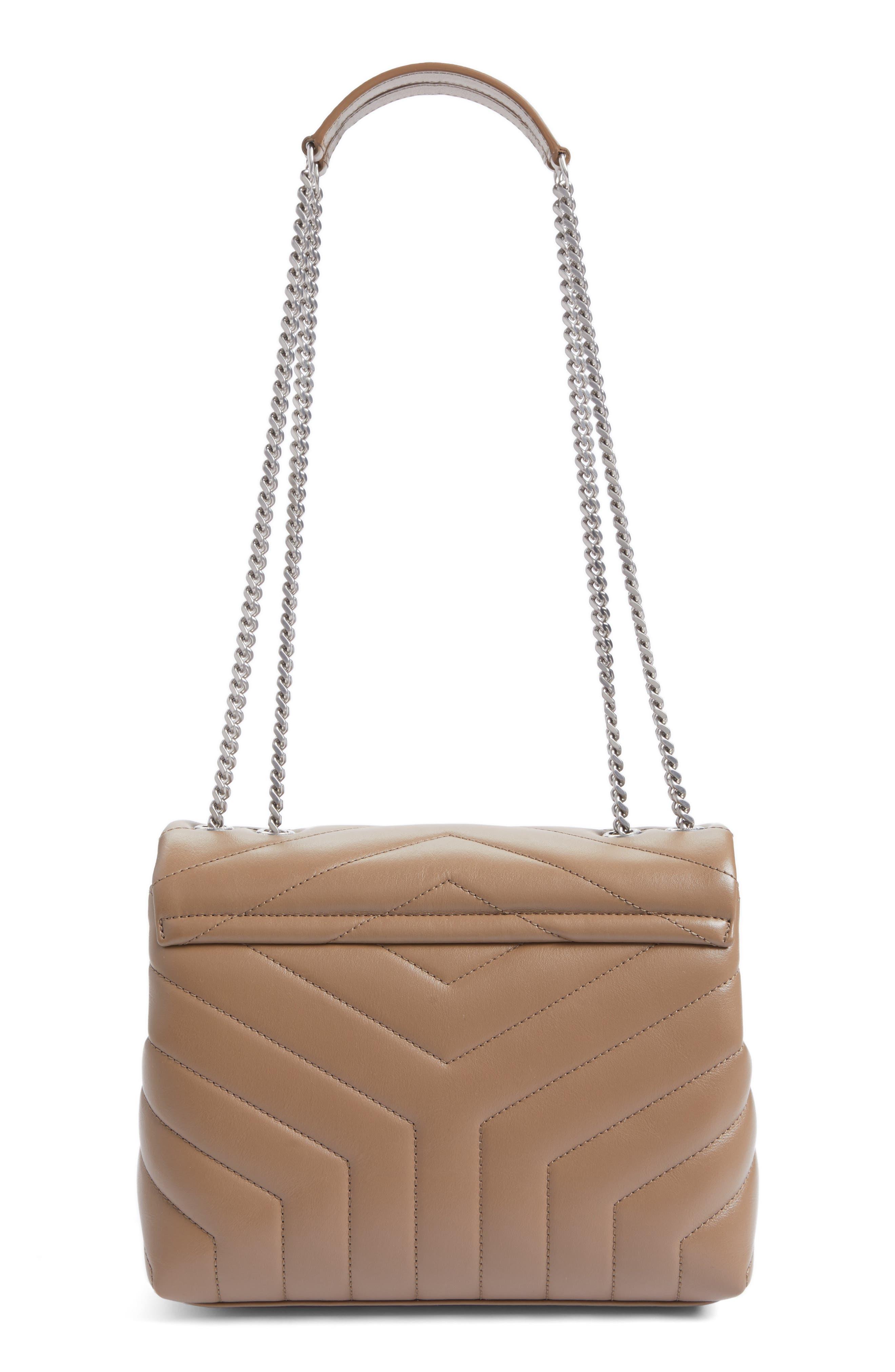 Alternate Image 3  - Saint Laurent Small Loulou Matelassé Leather Shoulder Bag