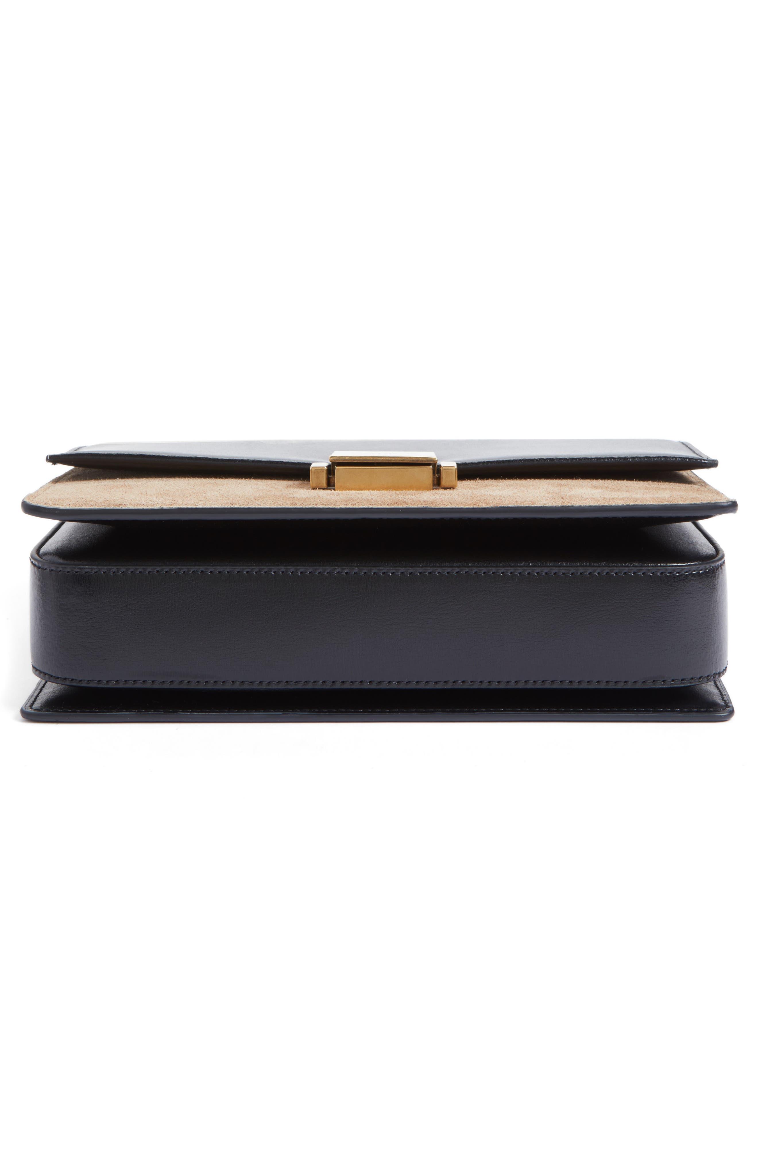 Alternate Image 6  - Saint Laurent Medium Bellechasse Suede & Leather Shoulder Bag