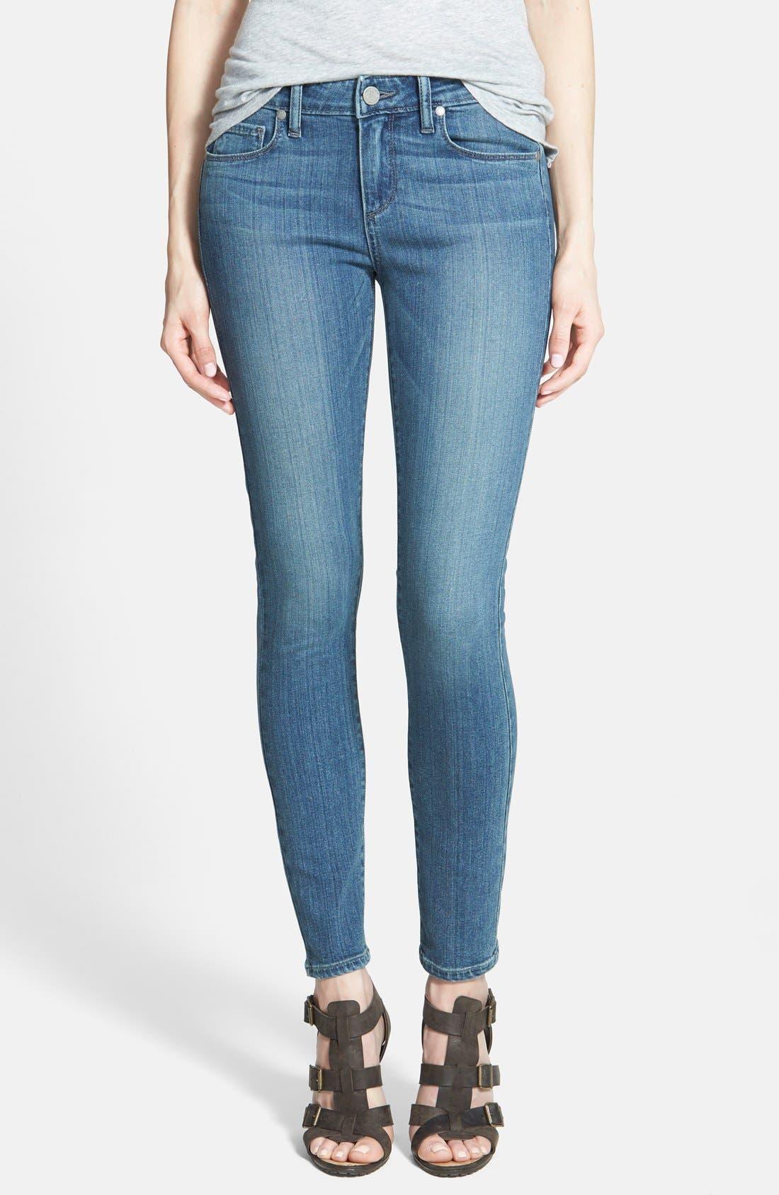 Main Image - Paige Denim 'Verdugo' Low Rise Ankle Skinny Jeans (Dazeley)