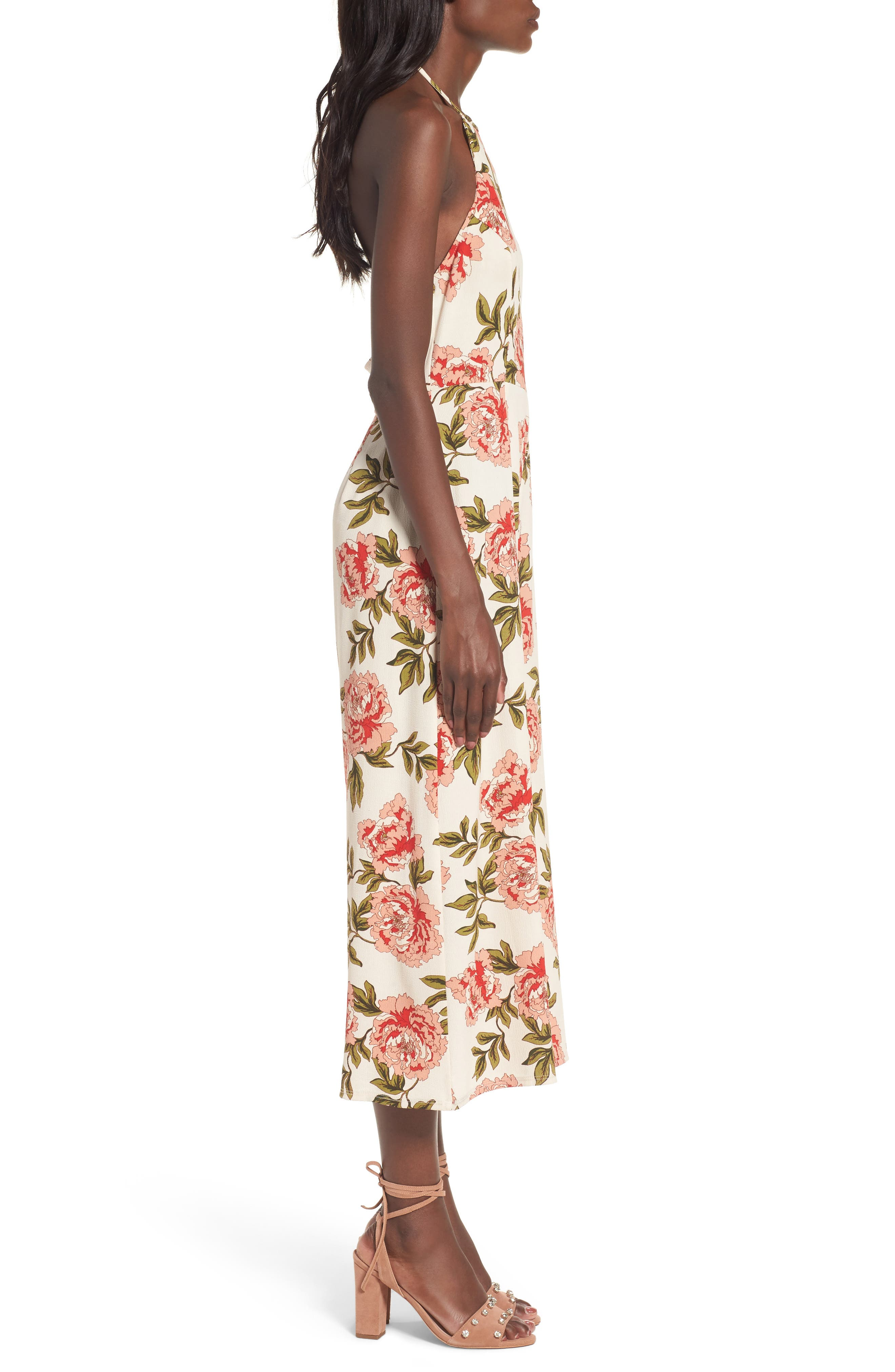 Alternate Image 3  - Show Me Your Mumu Julianne Crop Jumpsuit
