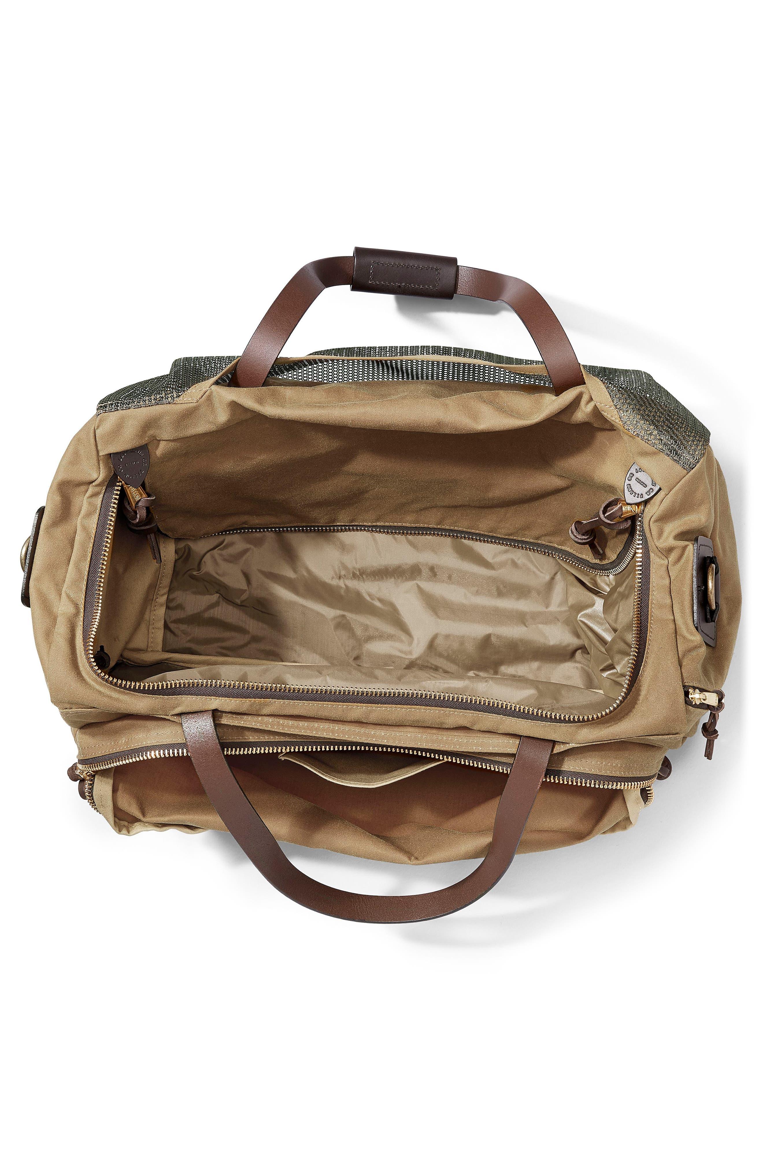 Excursion Duffel Bag,                             Alternate thumbnail 3, color,                             Tan