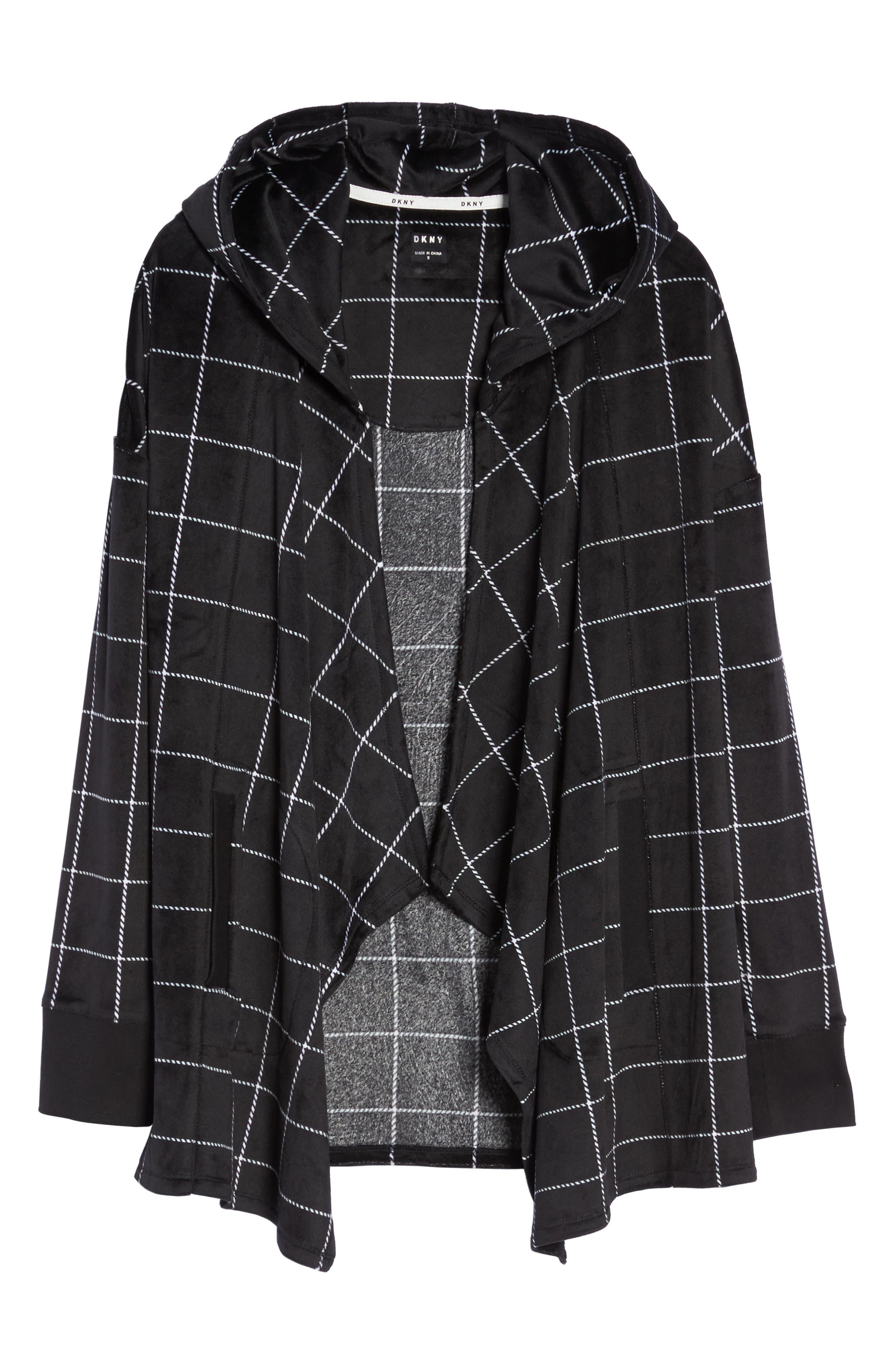 Alternate Image 4  - DKNY Drape Front Sweatshirt