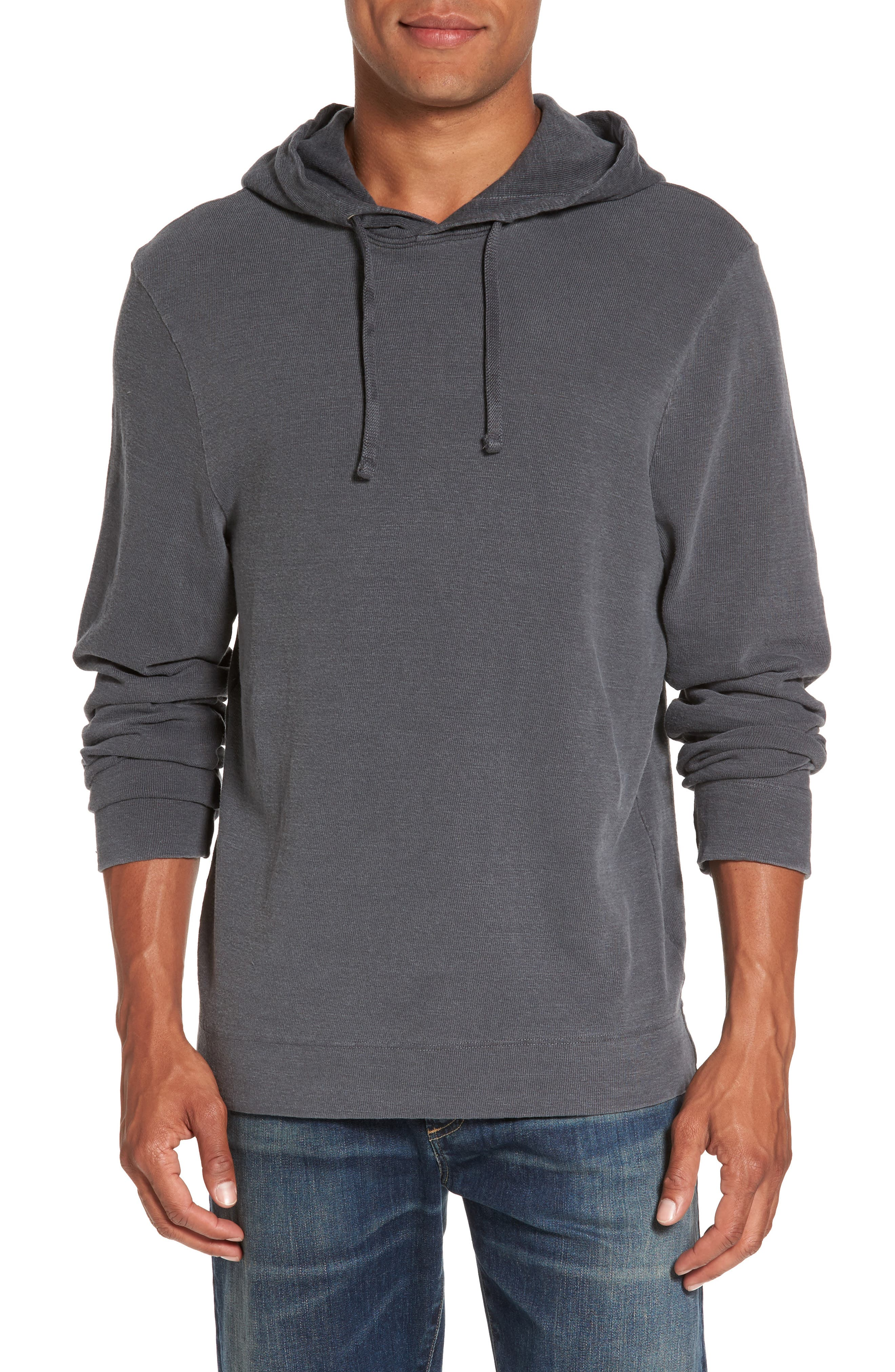 James Perse Standard Fit Pullover Hoodie