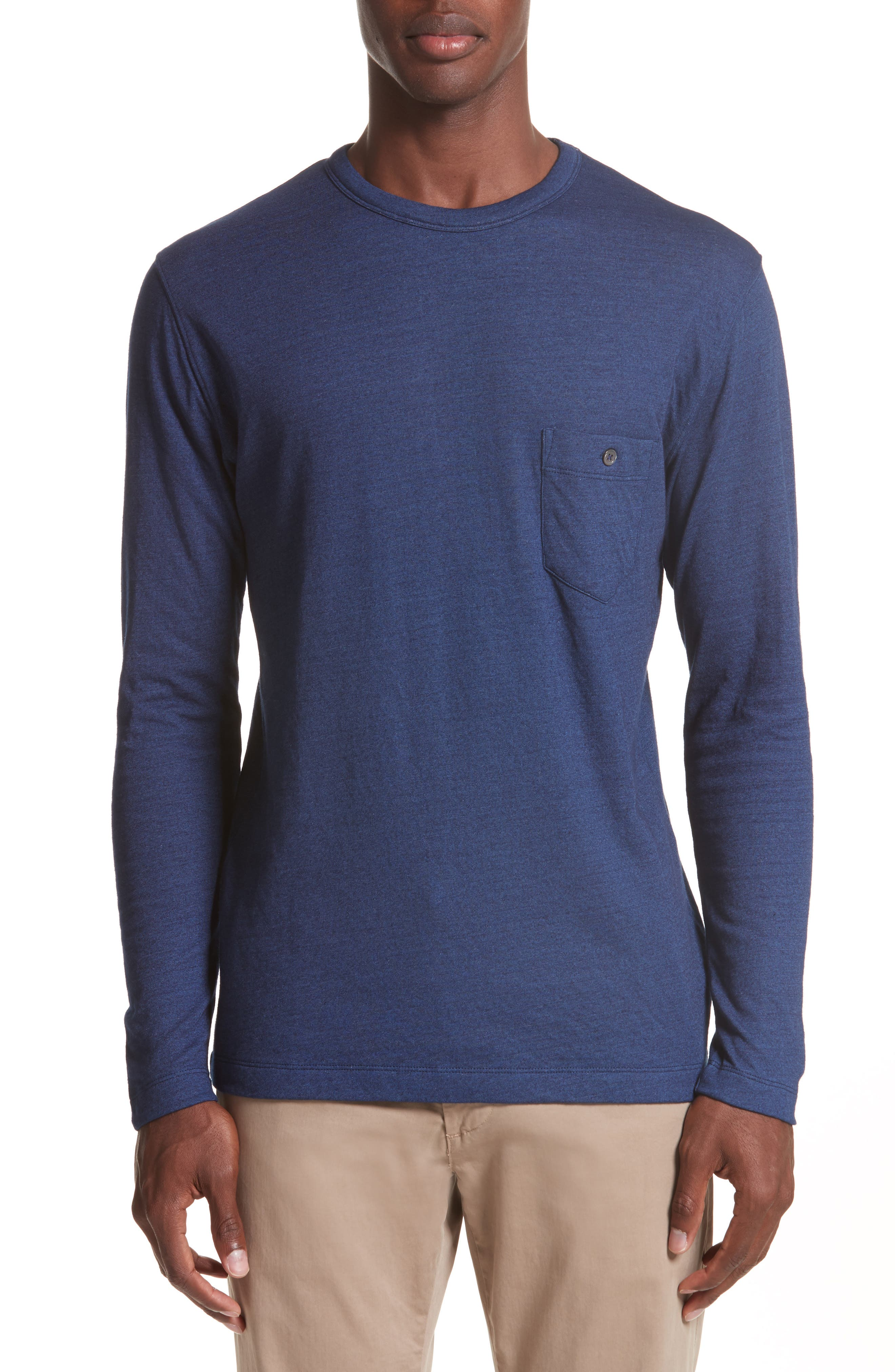Todd Snyder Long Sleeve Cotton Jersey T-Shirt