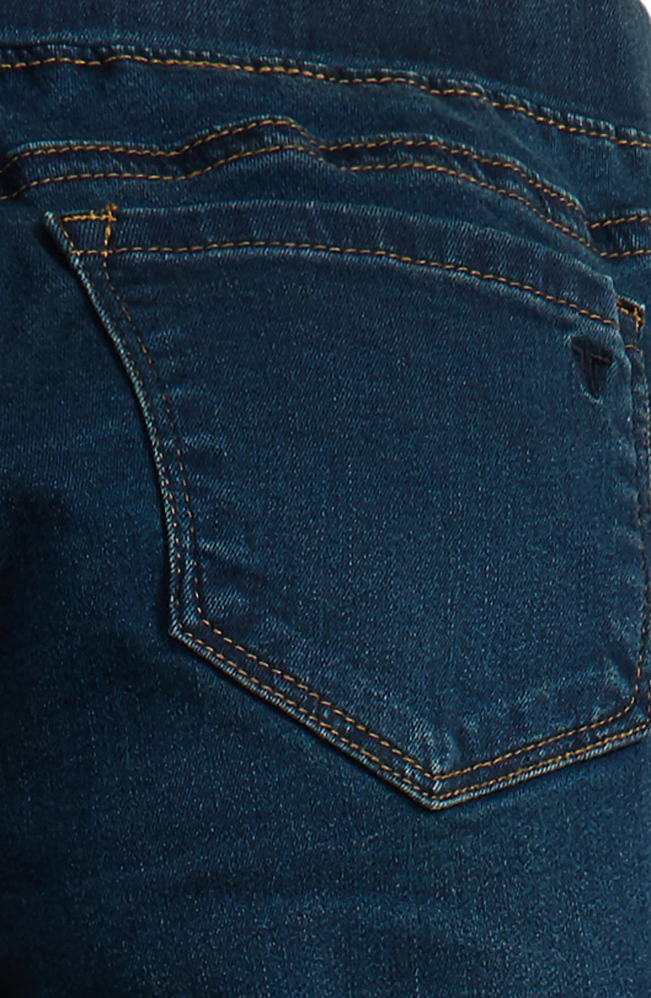 Alternate Image 3  - Tractr Pull-On Jeggings (Big Girls)