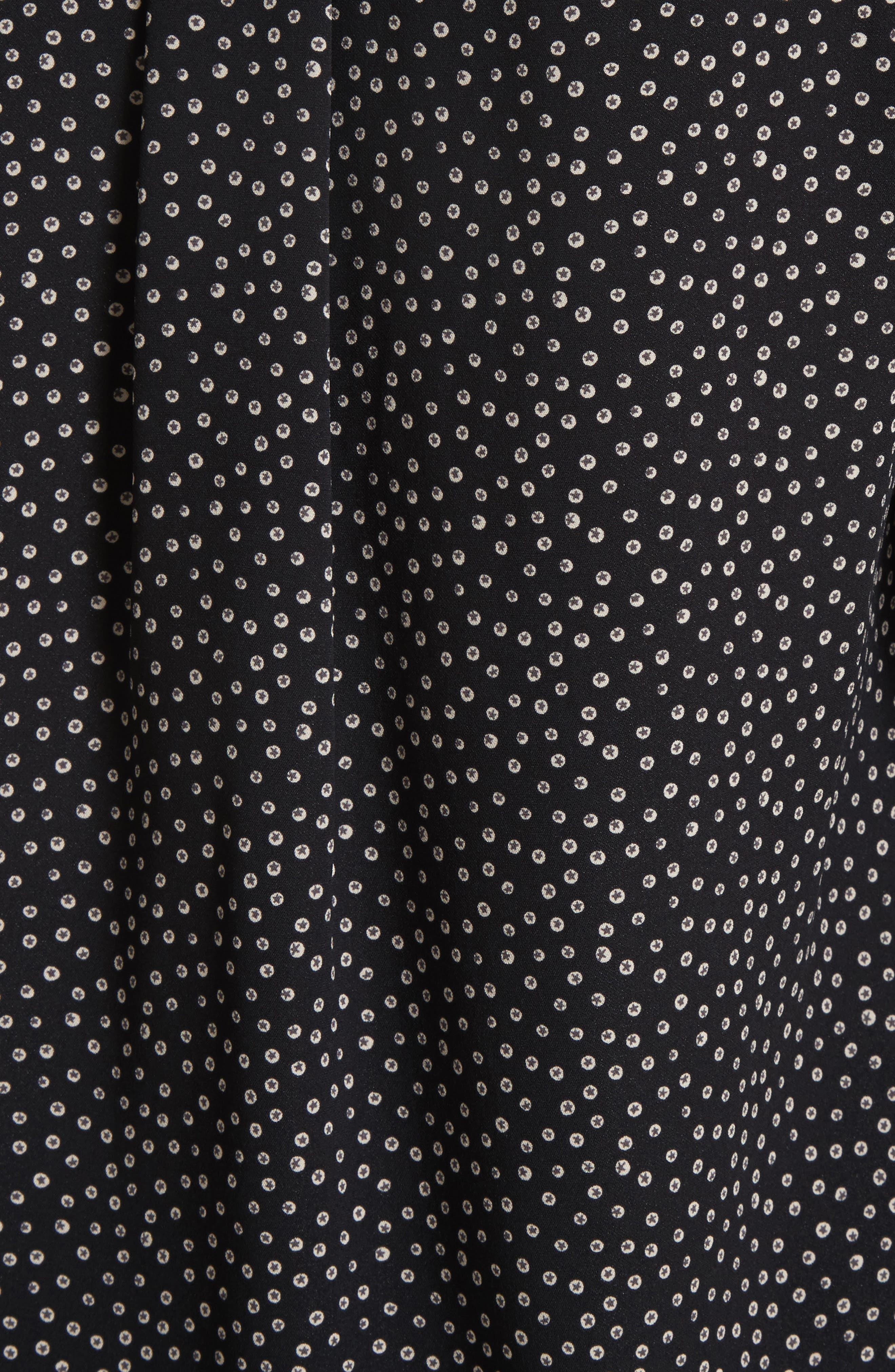Alternate Image 5  - Vince Celestial Polka Dot Slim Shirt