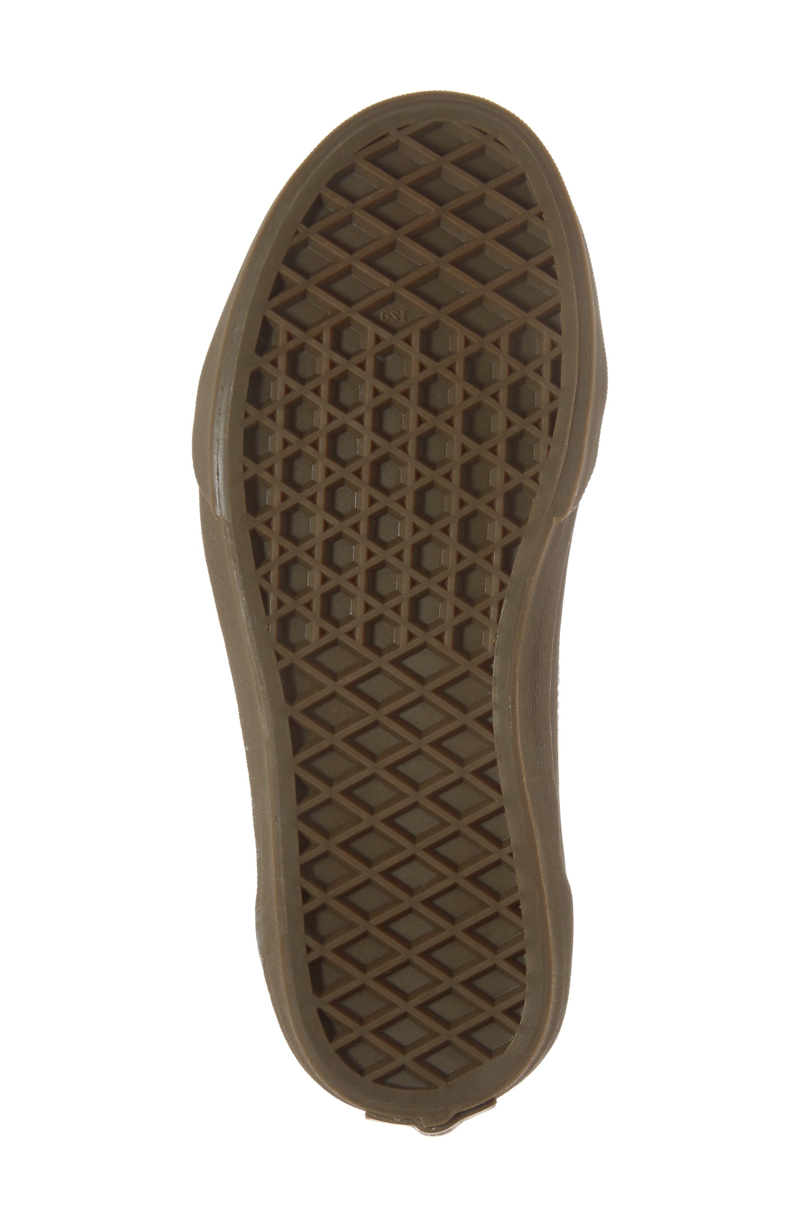 Old Skool Sneaker,                             Alternate thumbnail 6, color,                             Bleacher Gray/ Black/ Gum